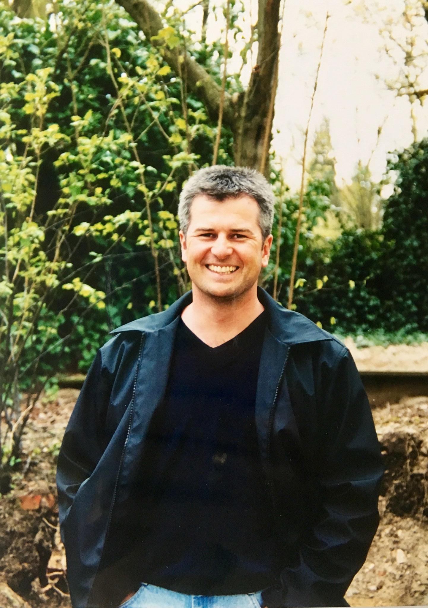 """Jörg Becher, Kernsanierung """"Villa Becher"""" 1998/99 - Eingang EG, spätere Tagungsetage"""
