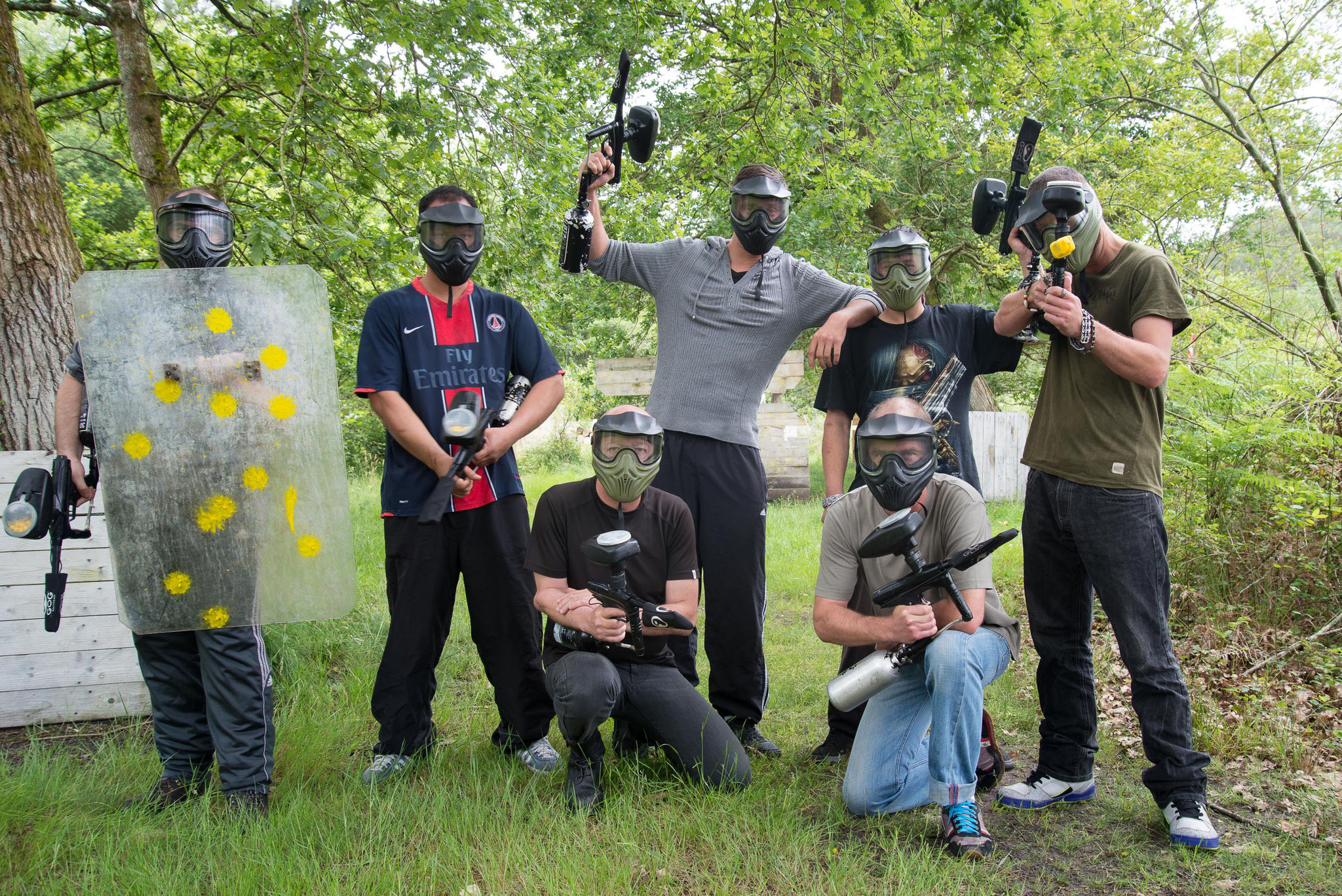 Paintball landes CE