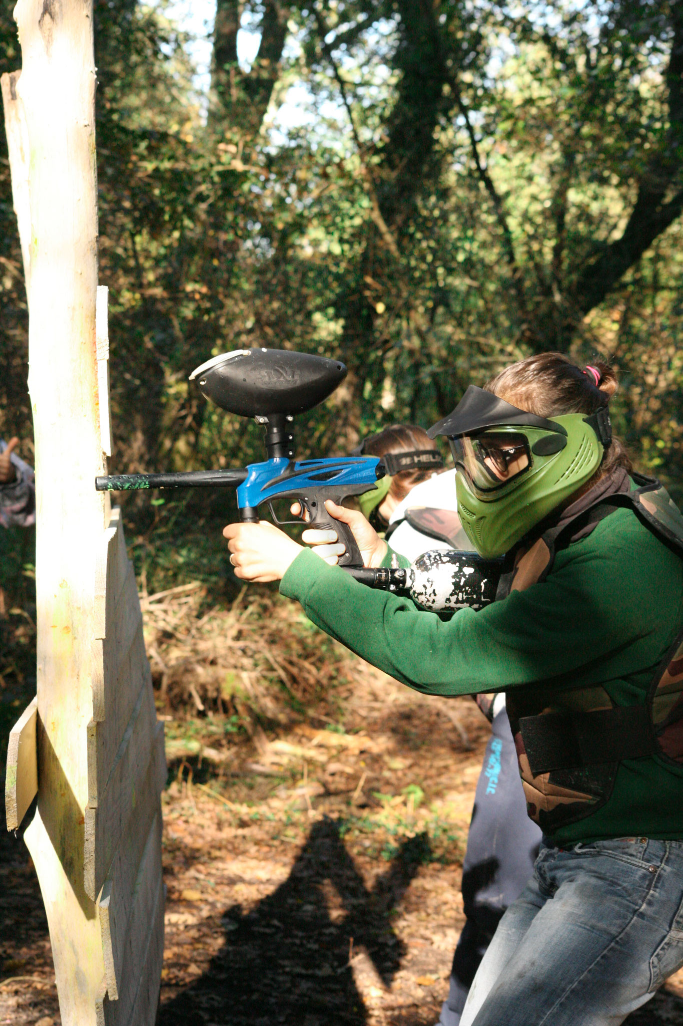 Paintball Landes enterrement de vie de jeune fille