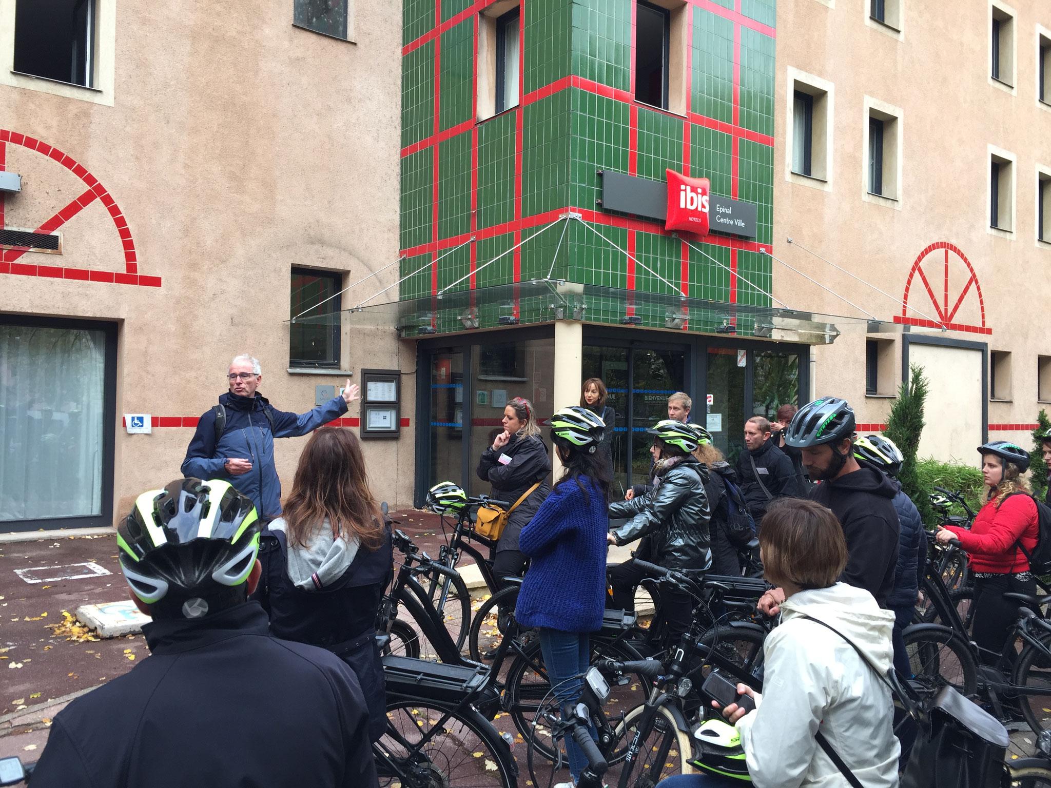 Dominique ANDRES nous présente les actions vélo de la Ville d'Epinal