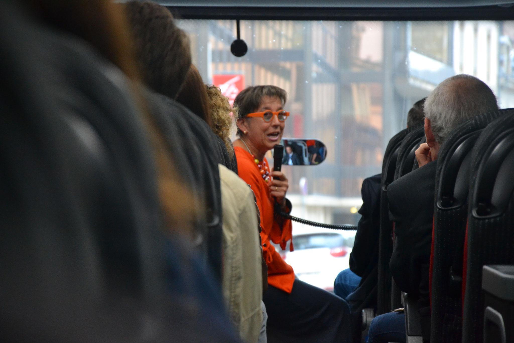 Actions touristiques présentées par Christine TAVERNIER (Directrice)