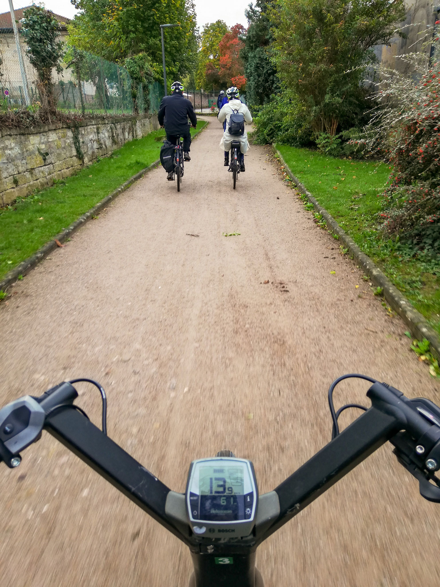 Accueil et départ depuis la Maison du Vélo