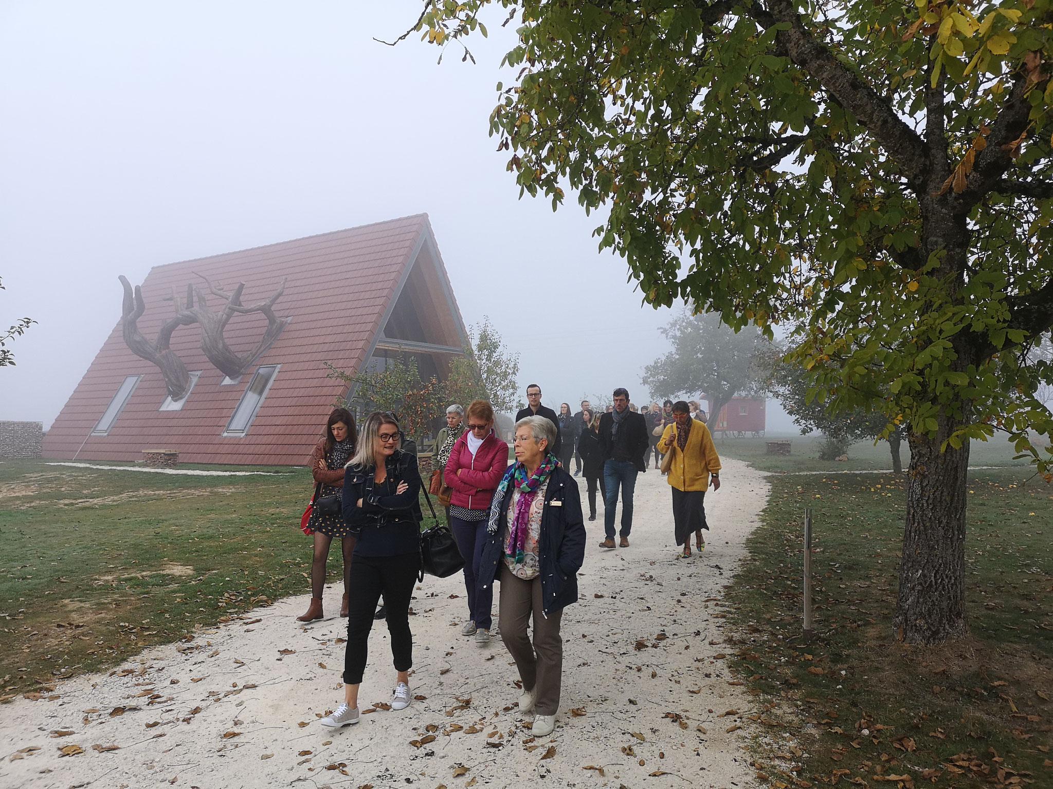 1er site : La ferme Aventure à la Chapelle aux Bois
