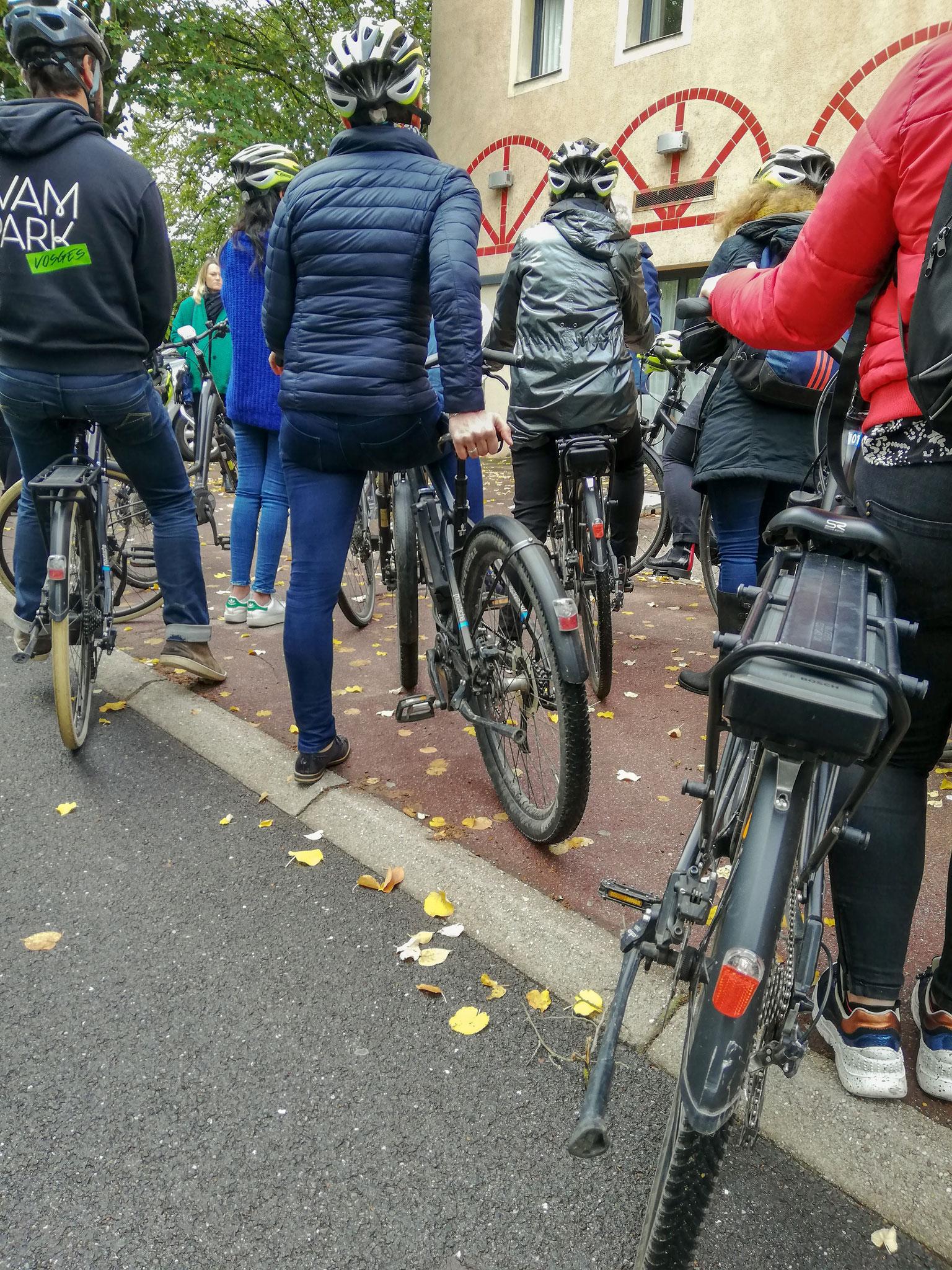 Pause pour les bonnes pratiques du vélo