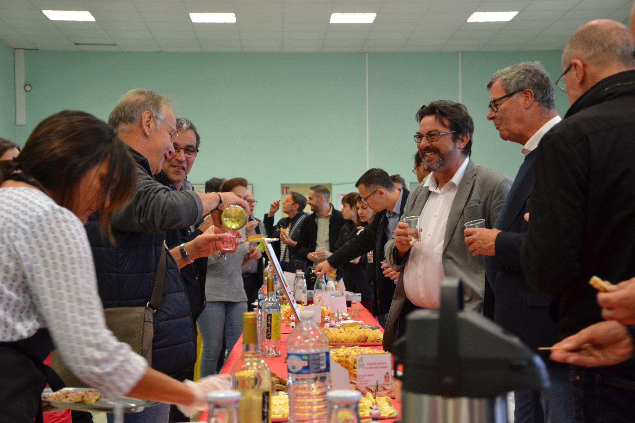 Pause déjeuner Vosges Terroir - Base Roland Naudin