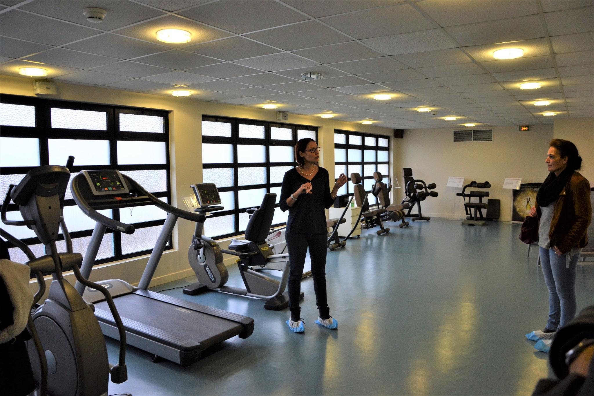Espace Fitness des Thermes de Bains les Bains