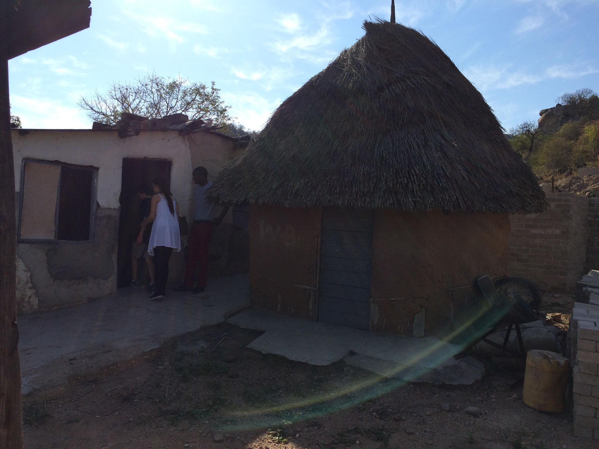 altes Haus von Thembi