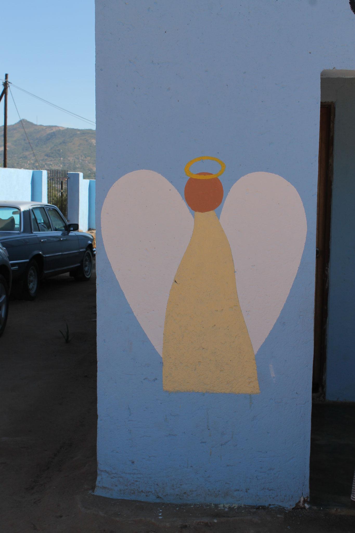 Engel am Eingang