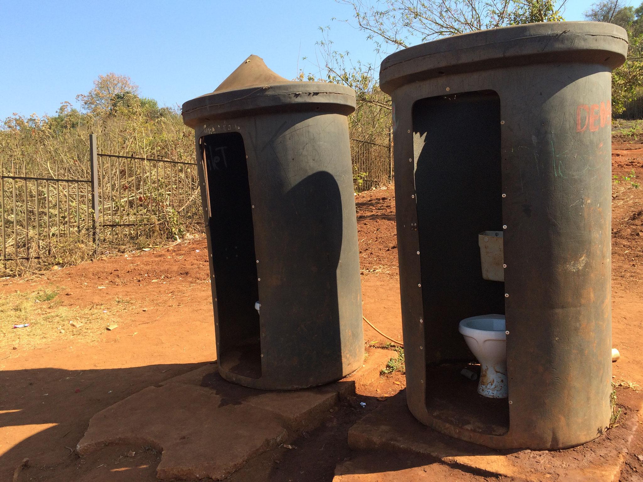 alte Toiletten