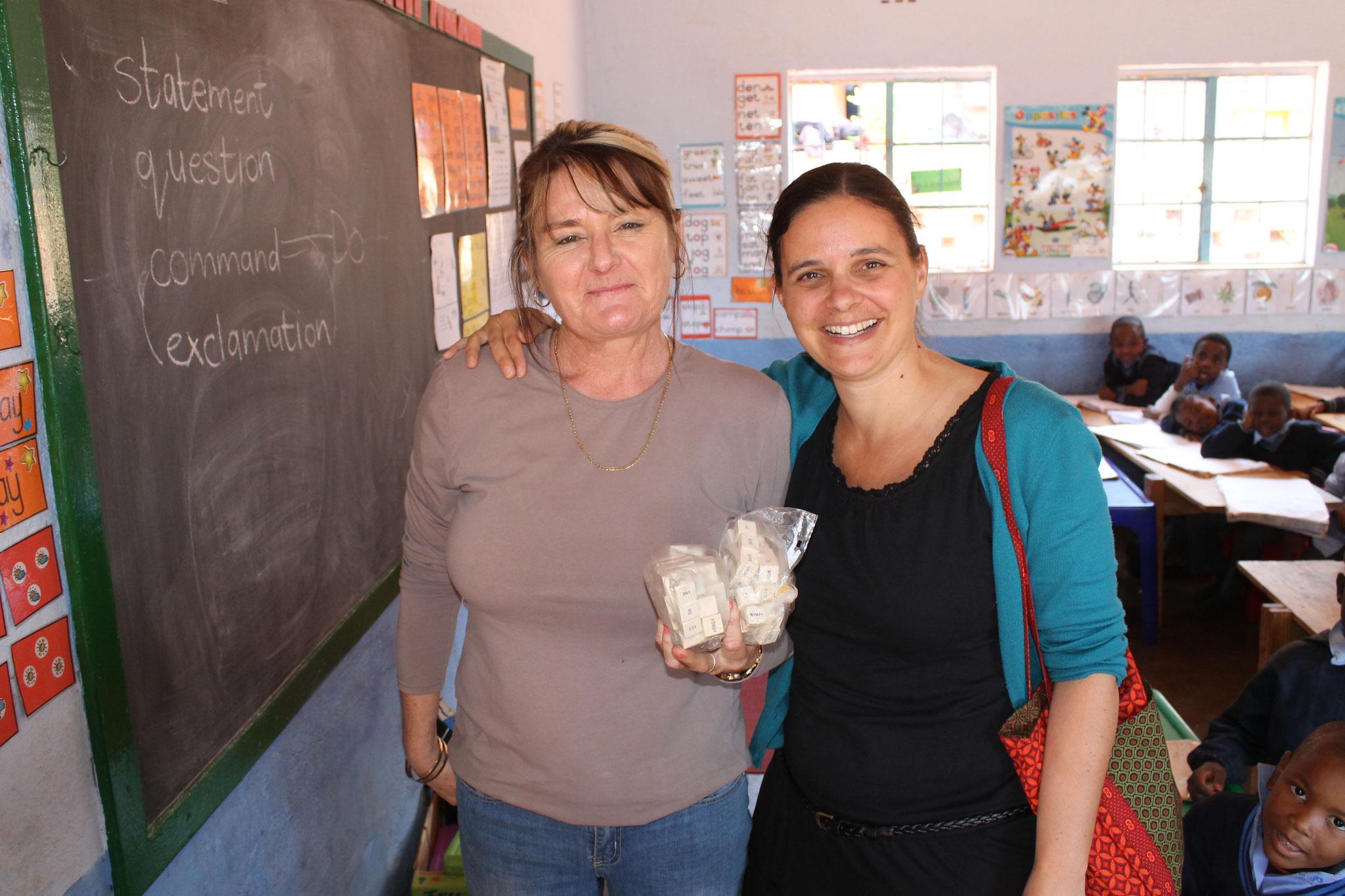 Kerry, eine Lehrerin und ich