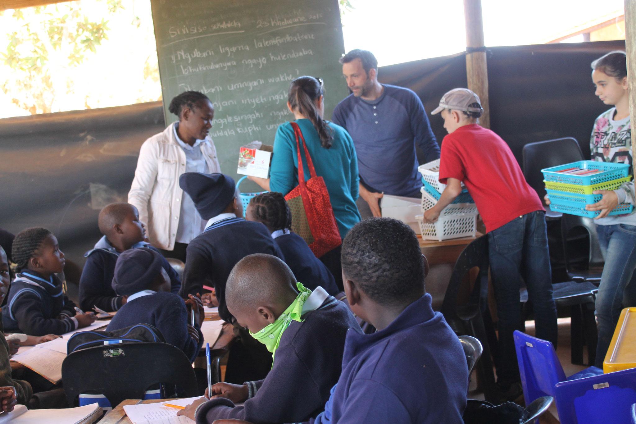 Schulmaterial für Klassen