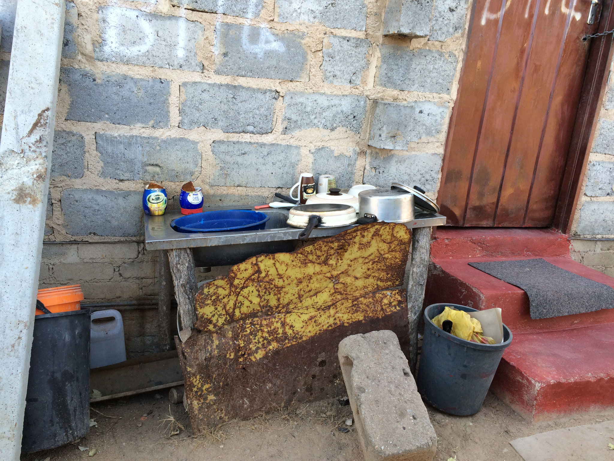 alte Küche von Thembi