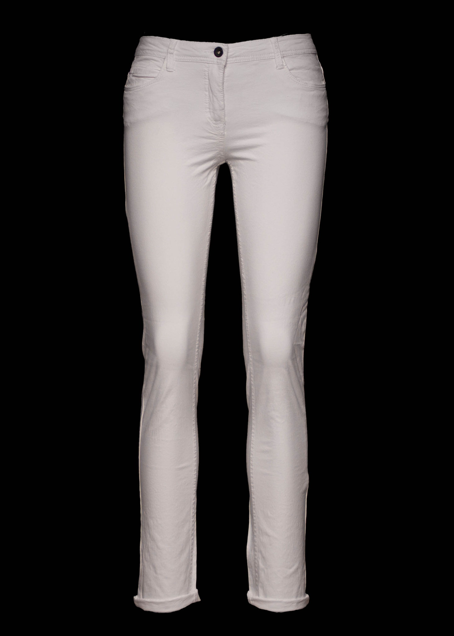 Gabardine Hose Weiß 29,99€