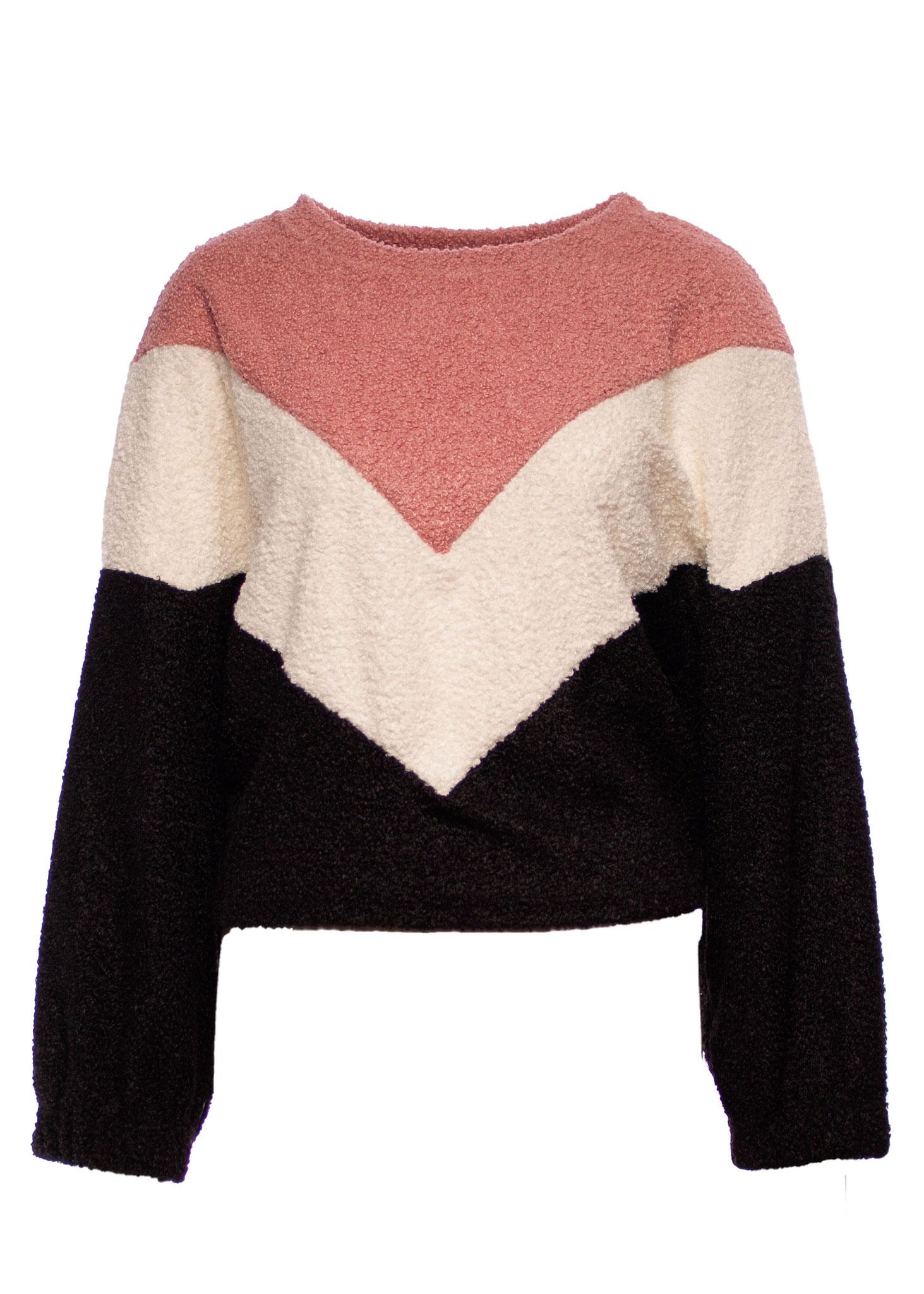 Sweatshirt Blockstreifen 29,99€