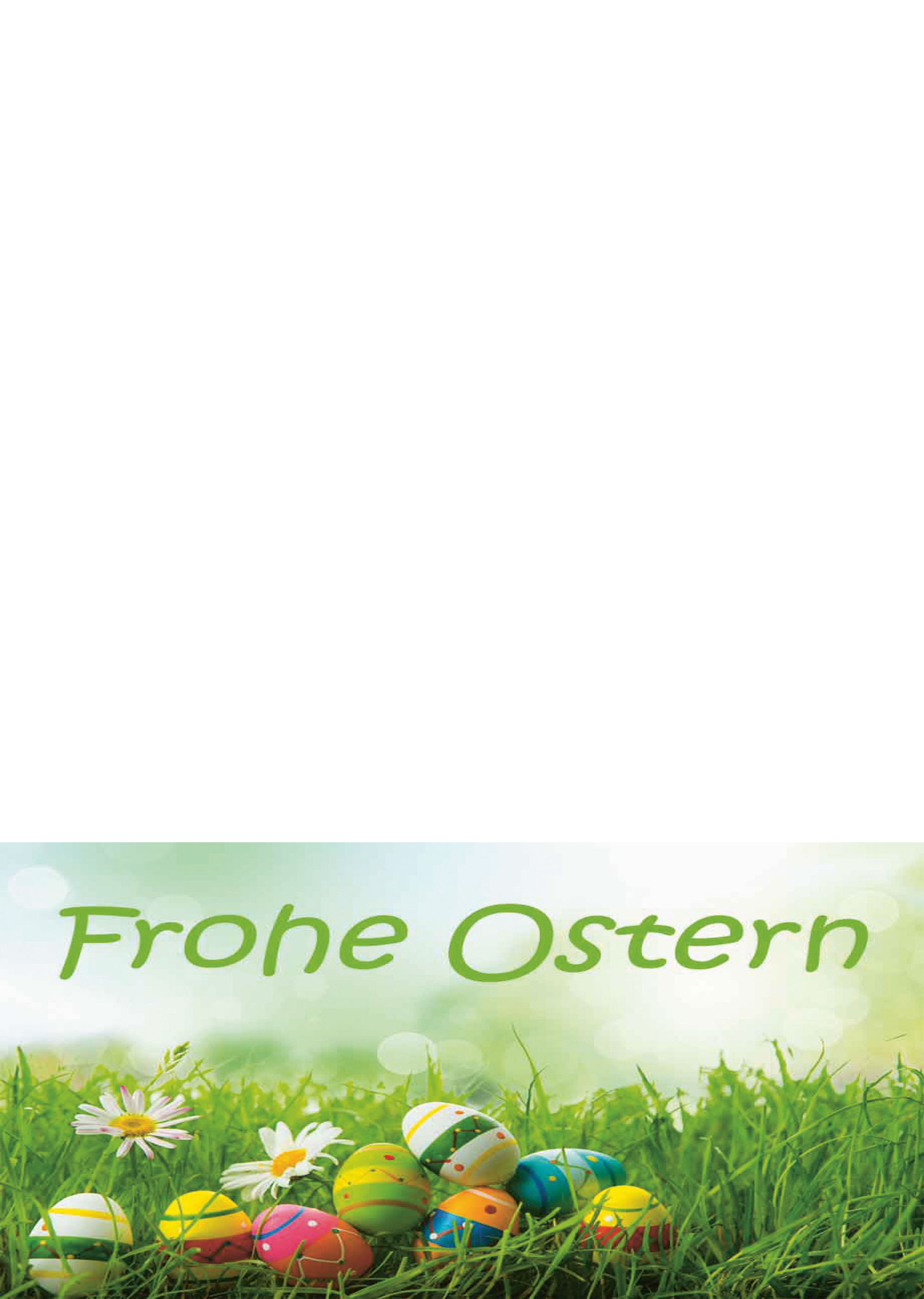 Briefpapier Frohe Ostern