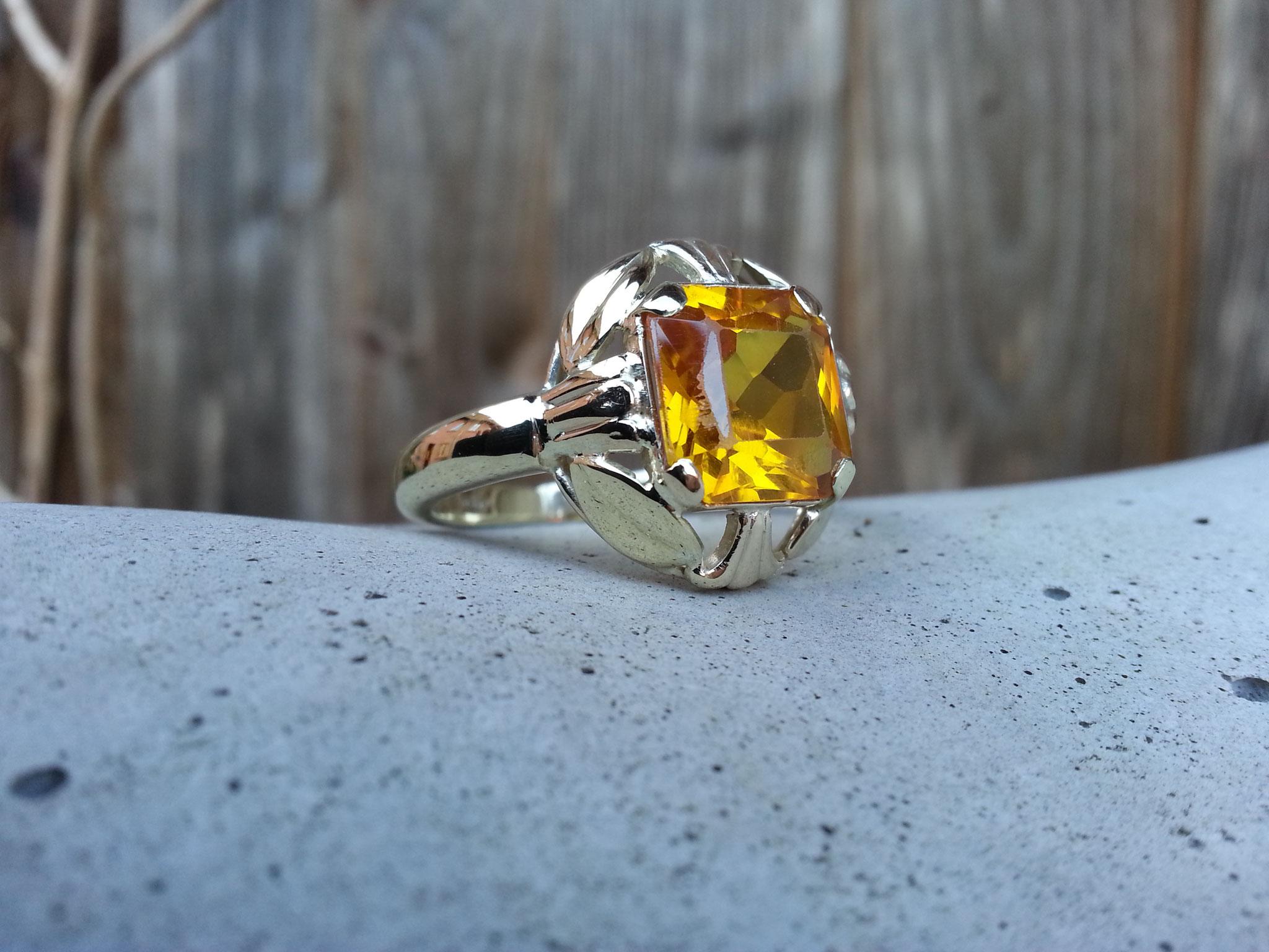 ...und fertig ist der Ring!