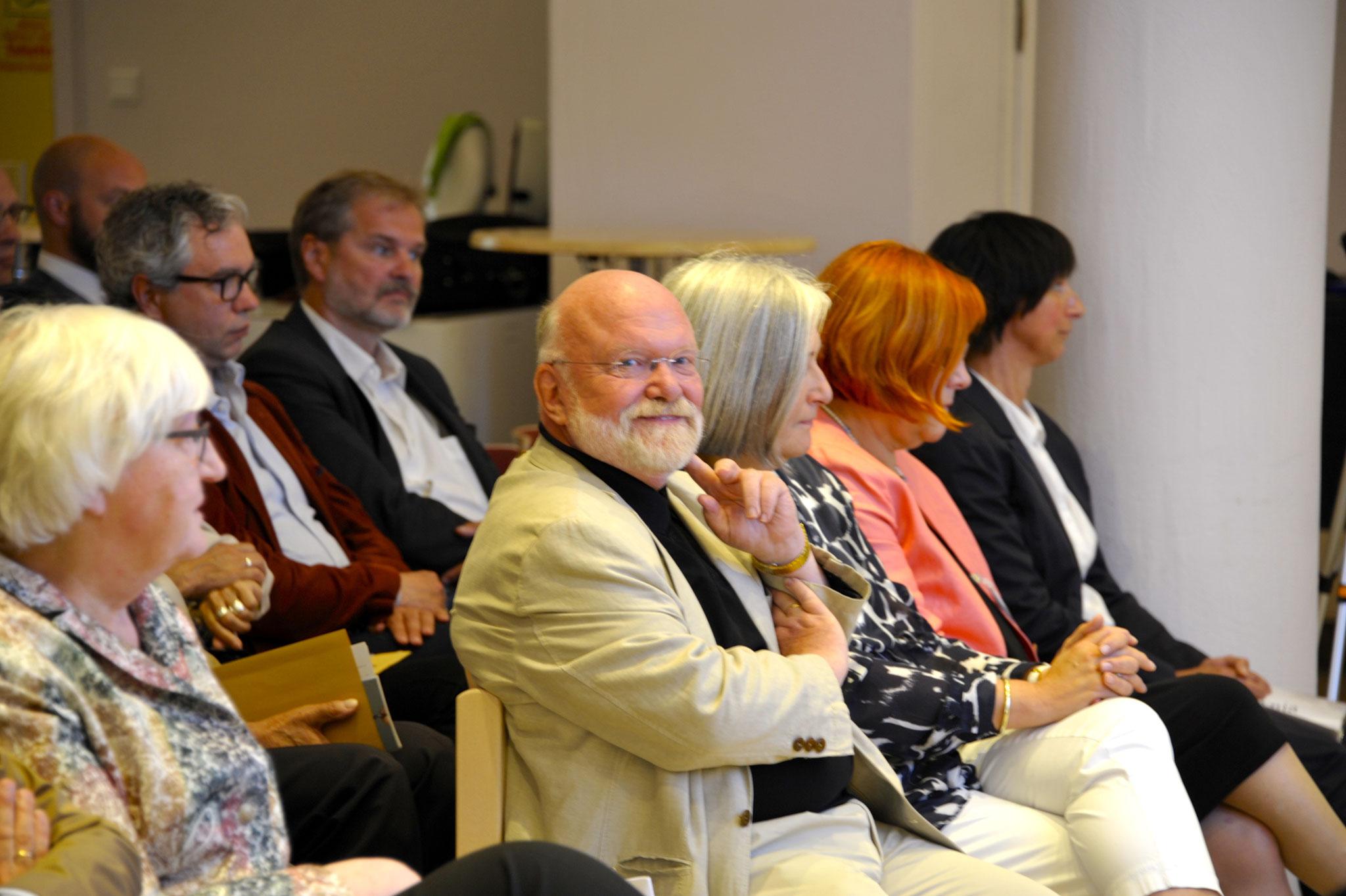 vl. Renate Mauritz, Reinhold Fahlbusch, Margret Bruns, Gunda Pollok-Jabbi, Dr. Anja Nelle