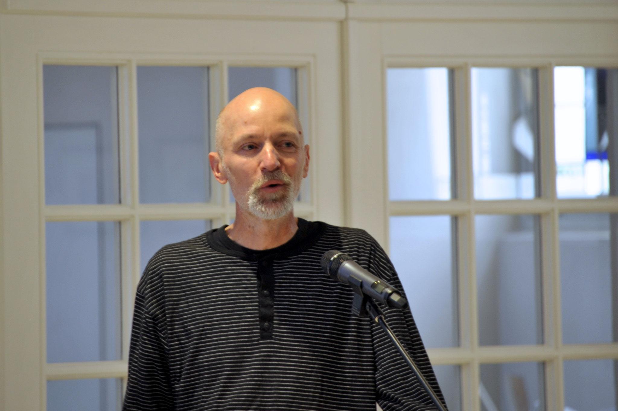 Laudator Olaf Schröder, Architekt, Lindener Baukontor
