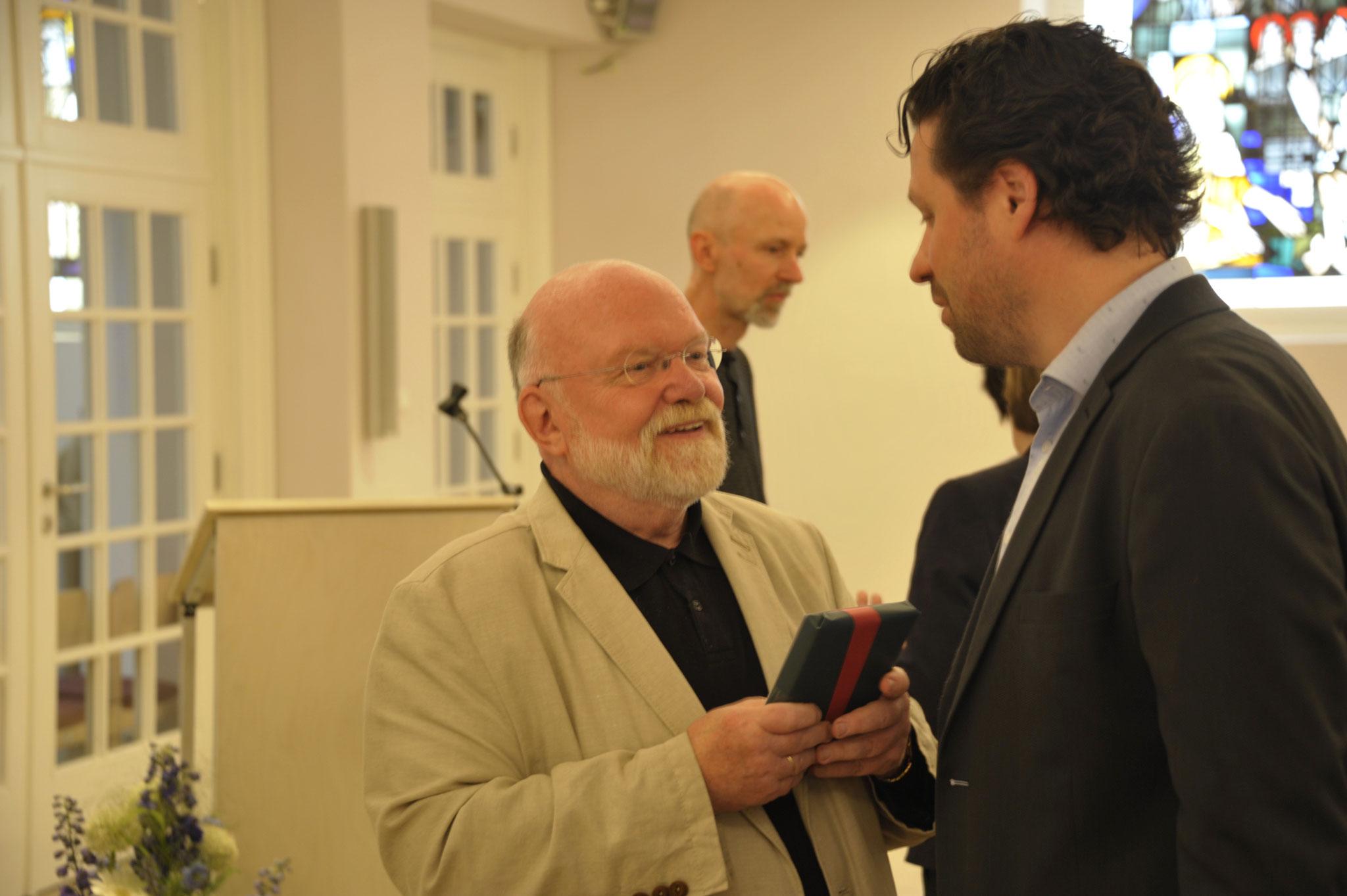 Reinhold Fahlbusch im Gespräch mit Alptekin Kirci MdL