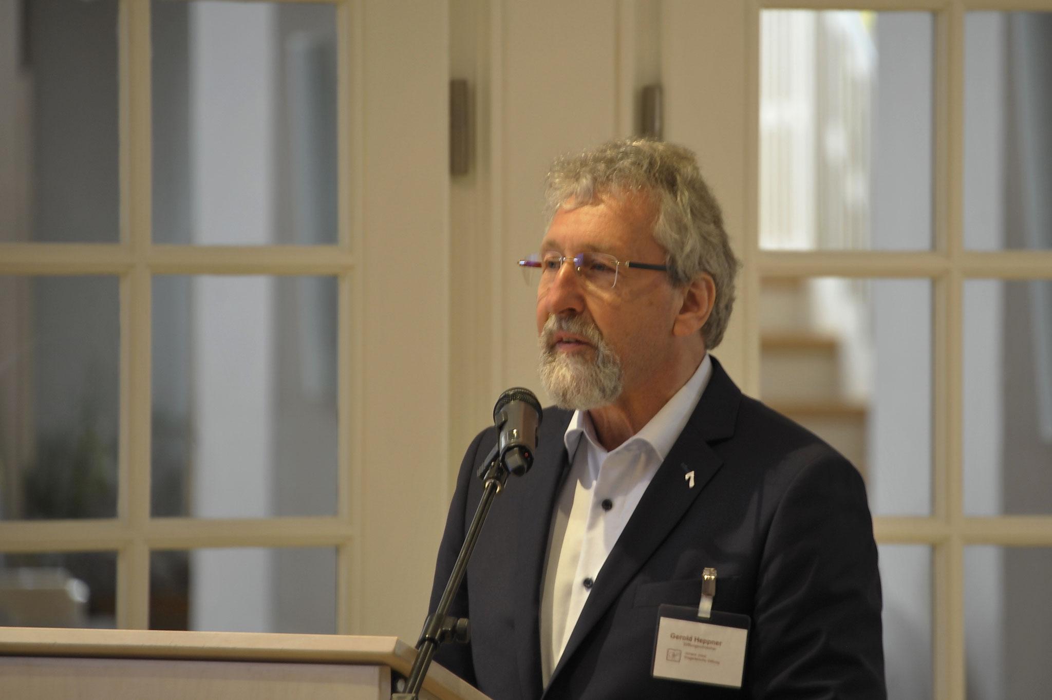 Der Nachfolger: Assessor Gerold Heppner