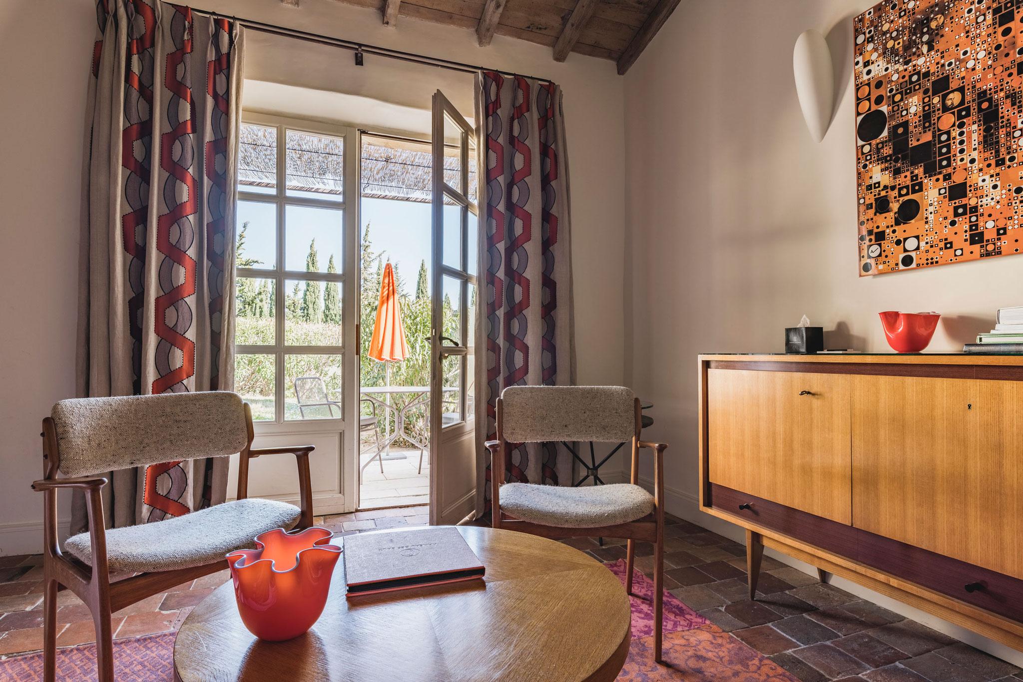 La Cabrière, Terrace Deluxe Room