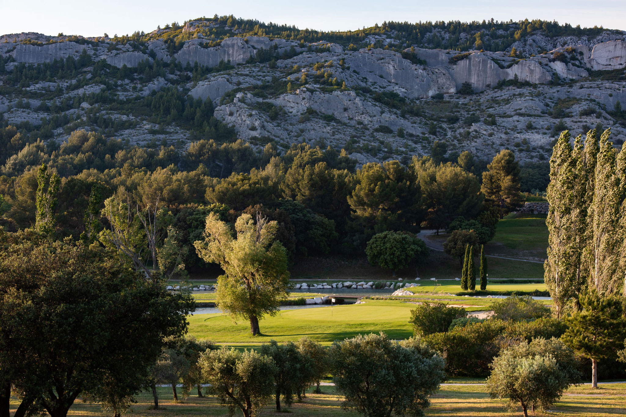 Golf in the Alpilles
