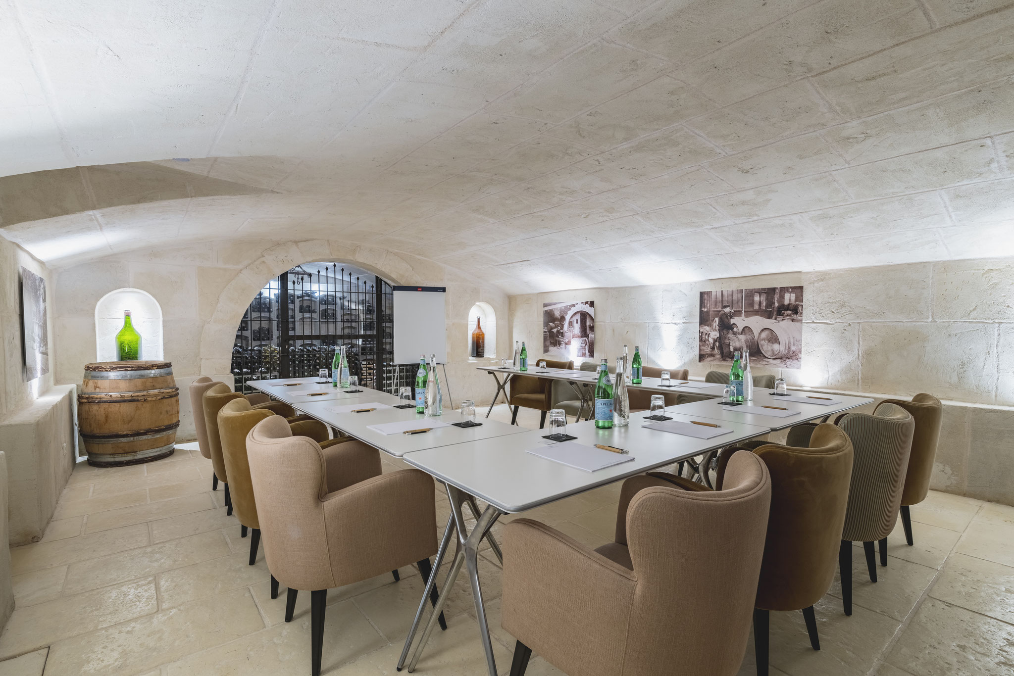 Meetings spaces of Hameau des Baux