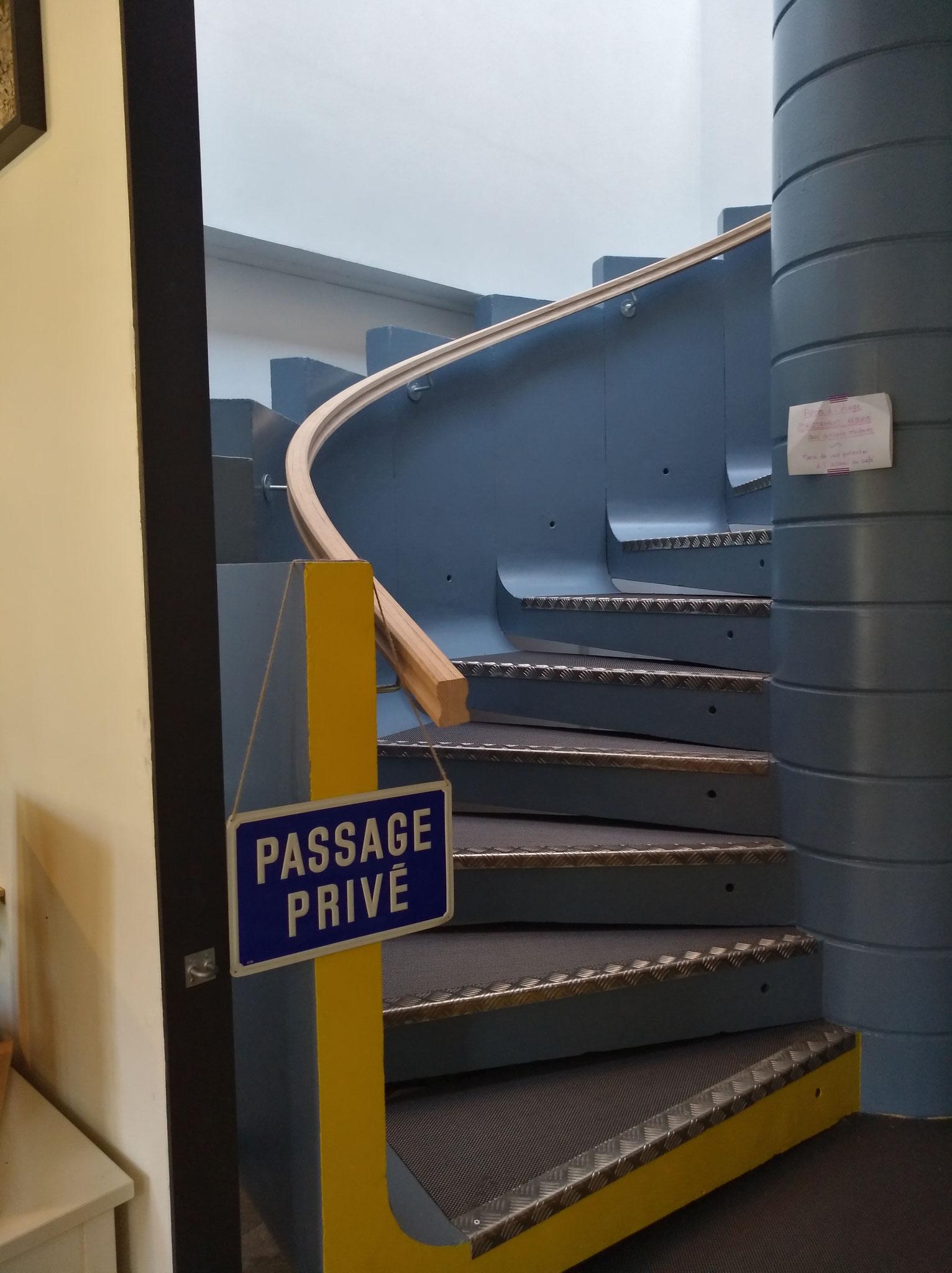 Rampe escalier hélicoïdale