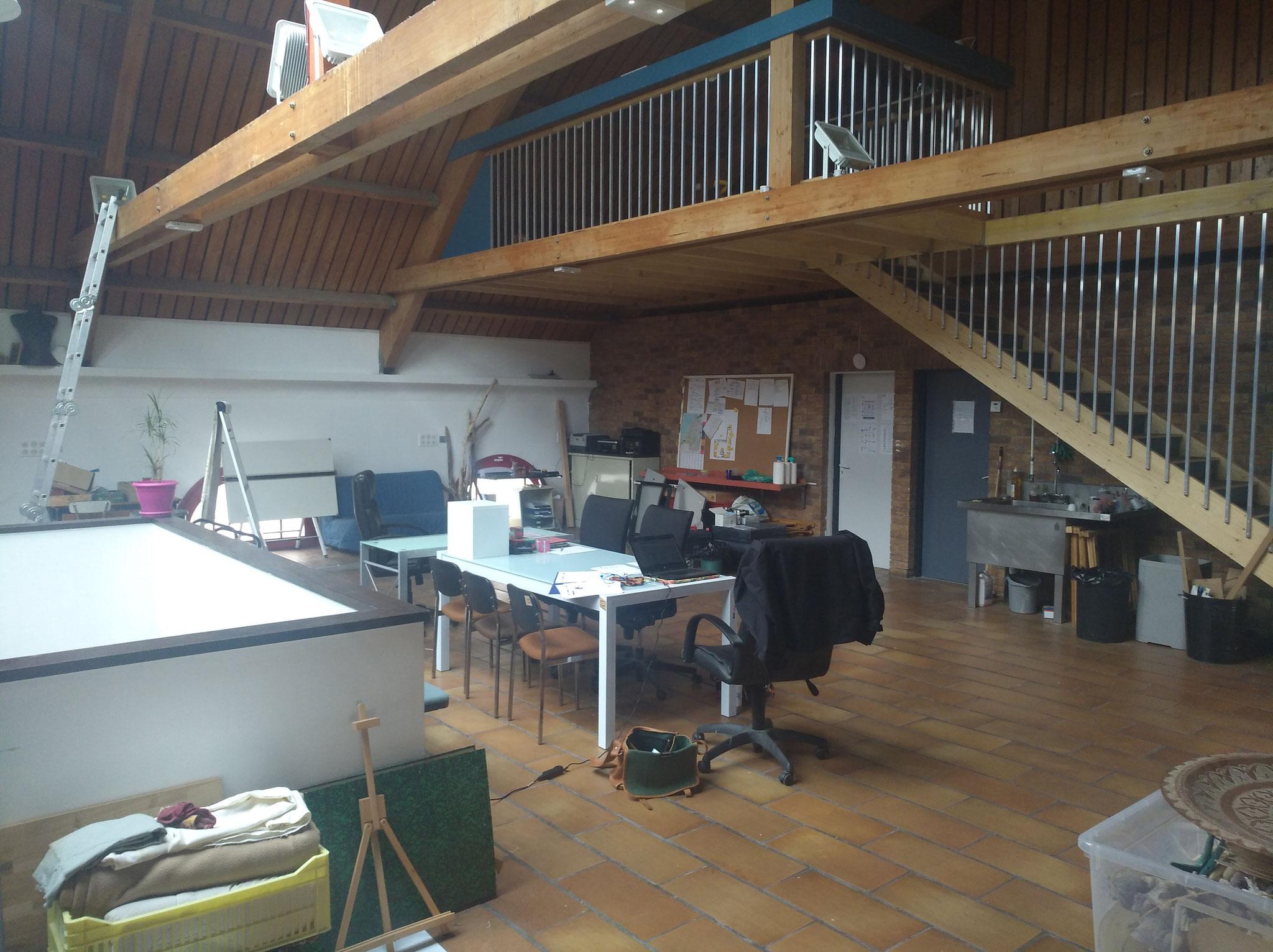 Mezzanine bois design