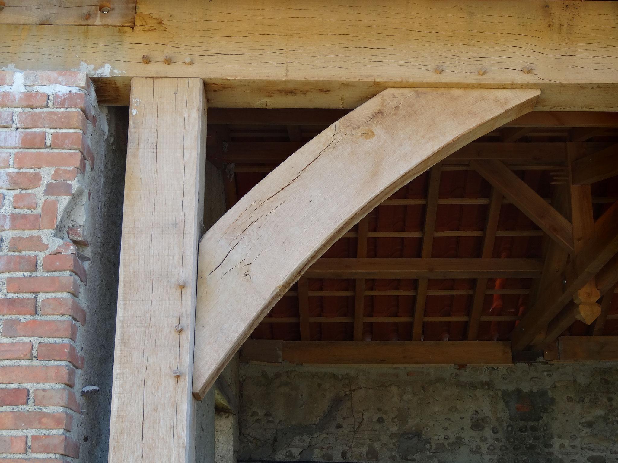 Assemblage charpente bois