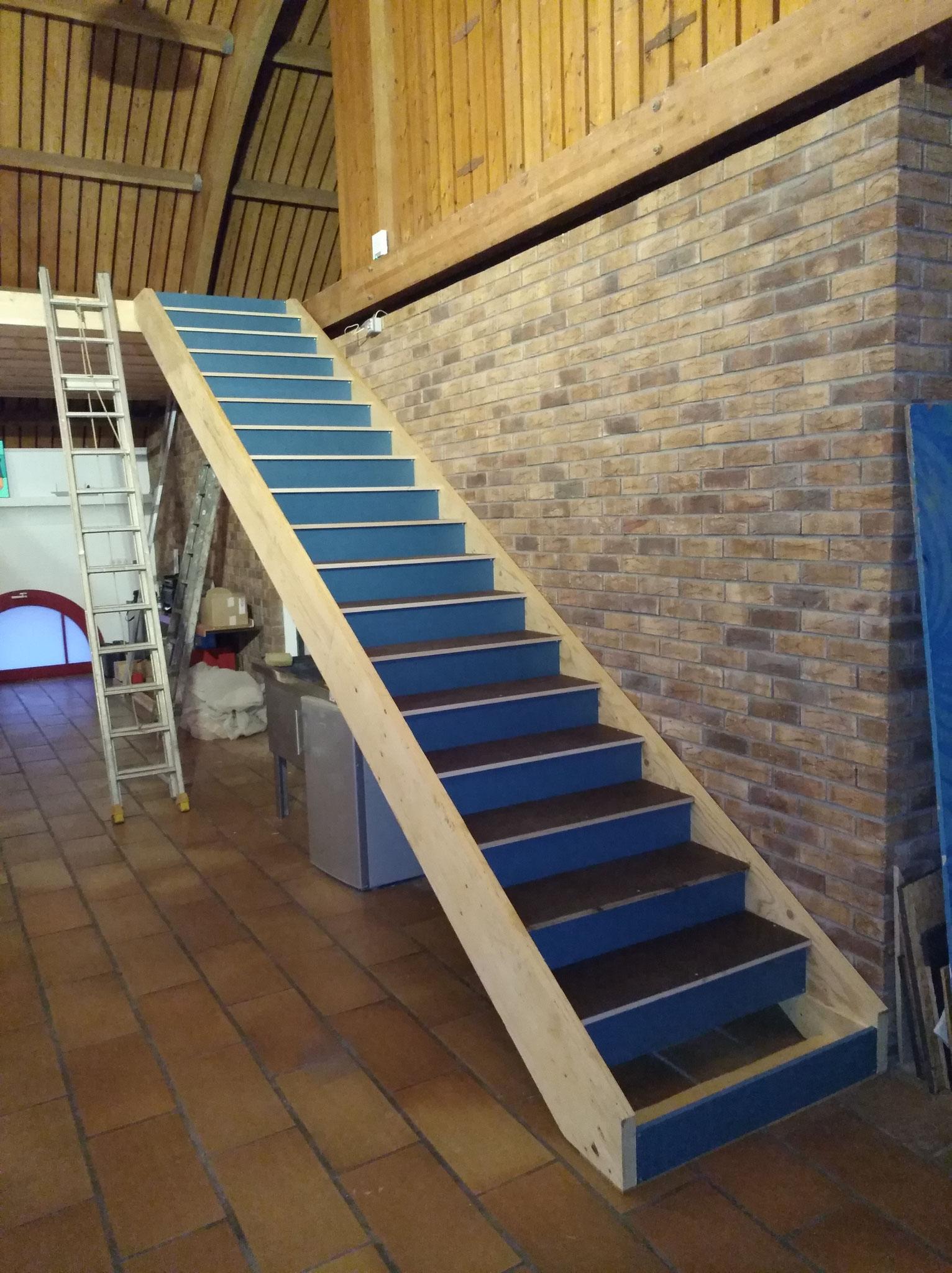 Escalier droit design