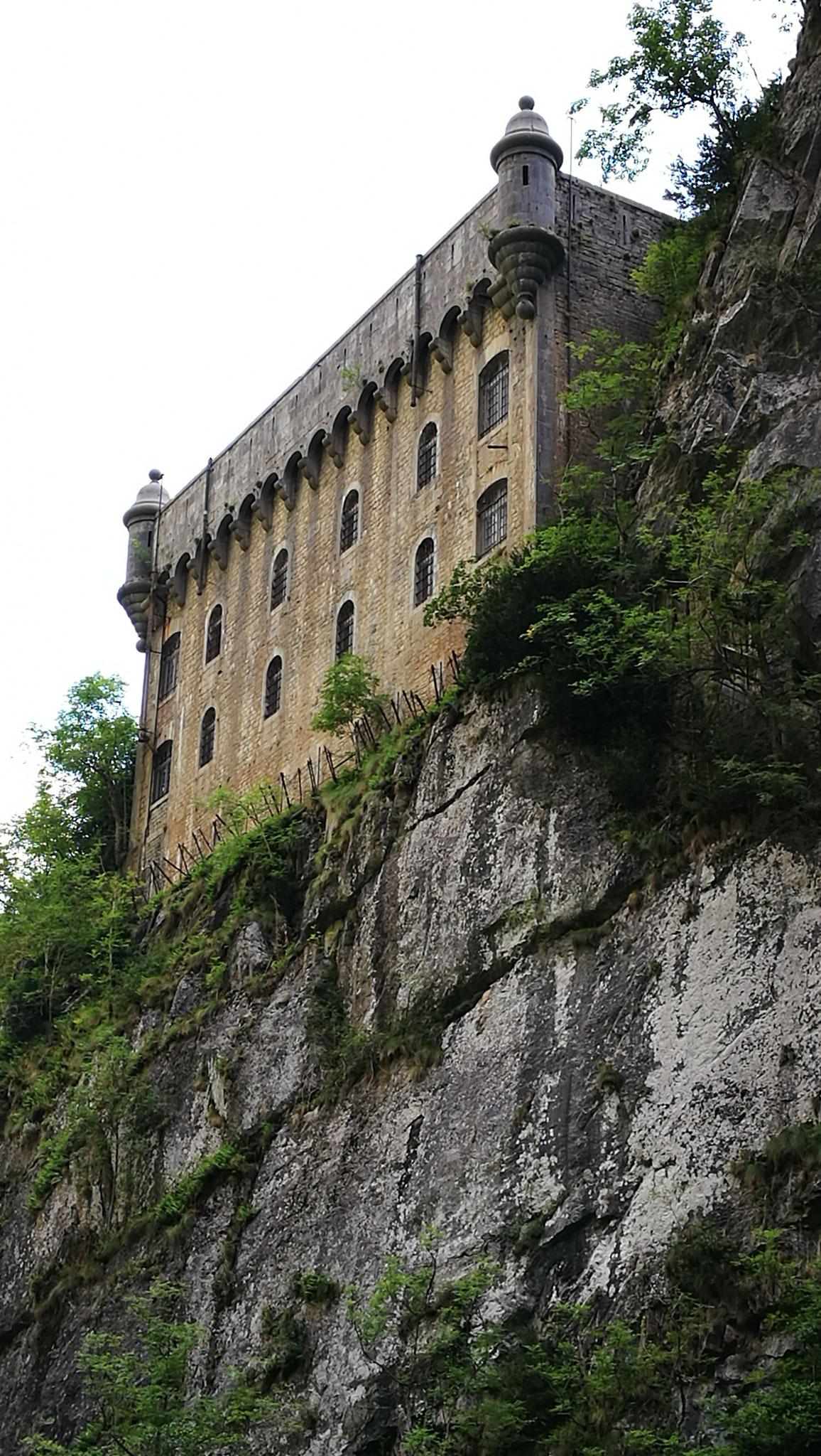 Le Fort du Portalet, impressionnant