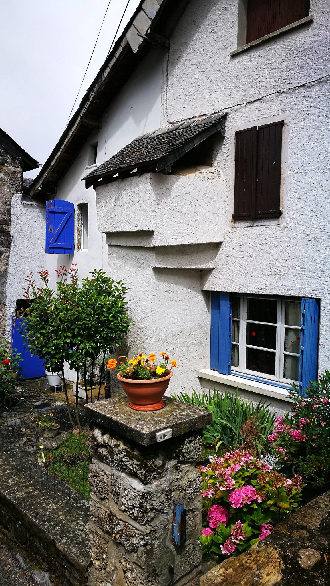 Maison typique béarnaise à Accous