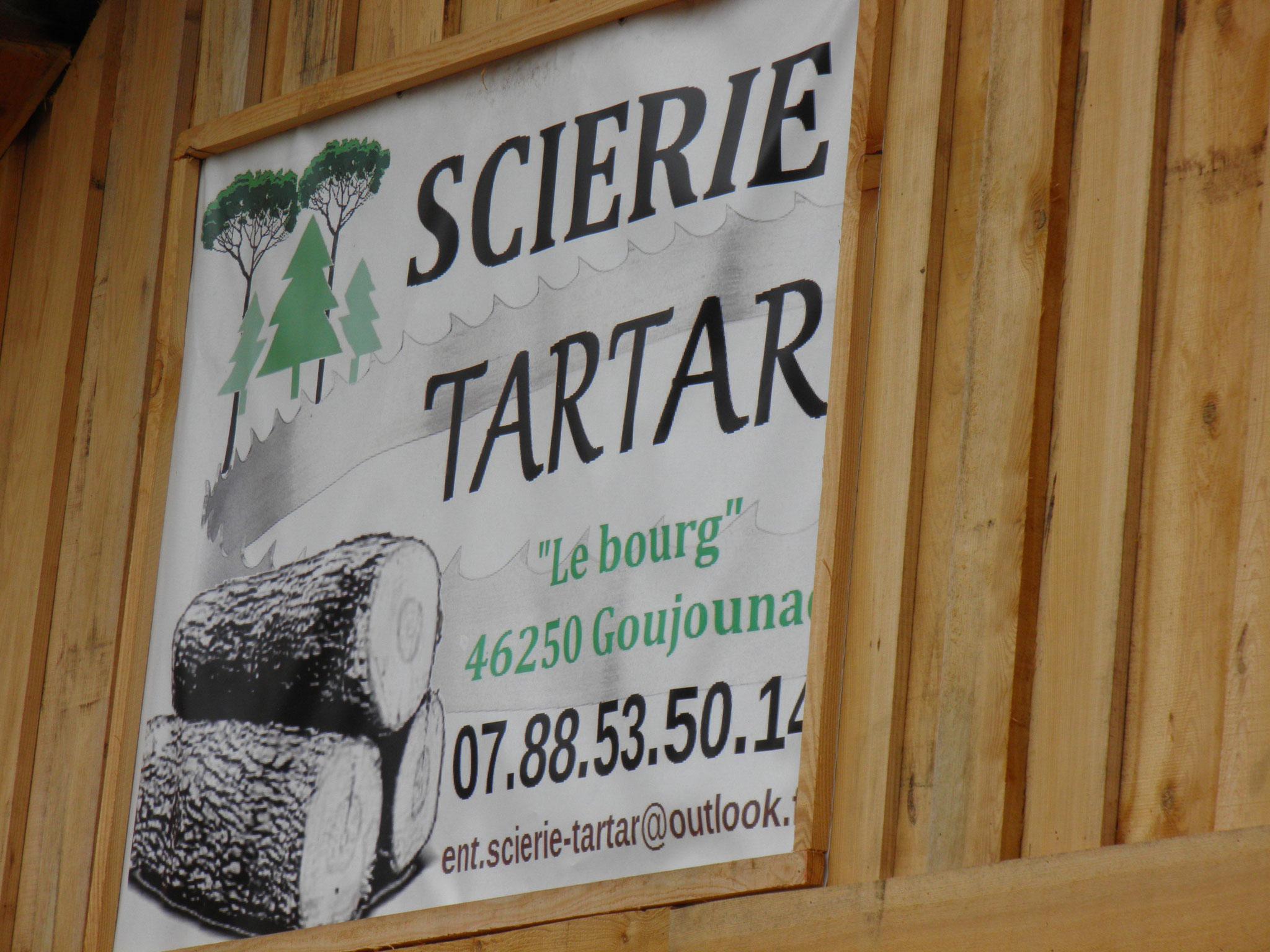Visite de la scierie TARTAR (anciennement Jean Luc VINCENT)