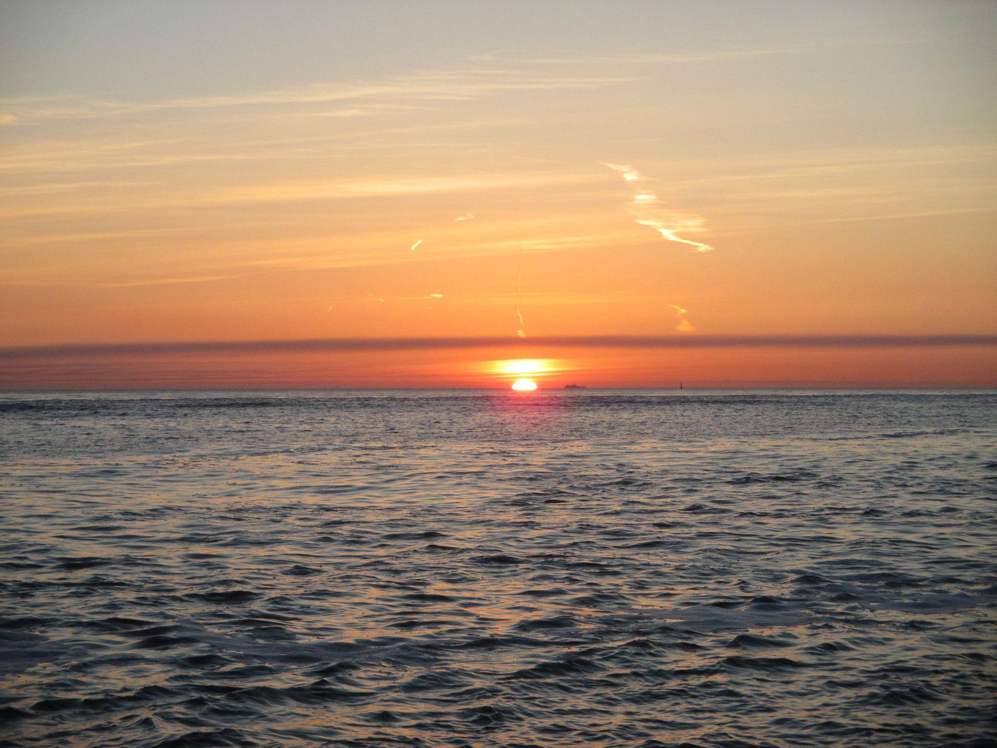 Sonnenaufgang bei Vieland