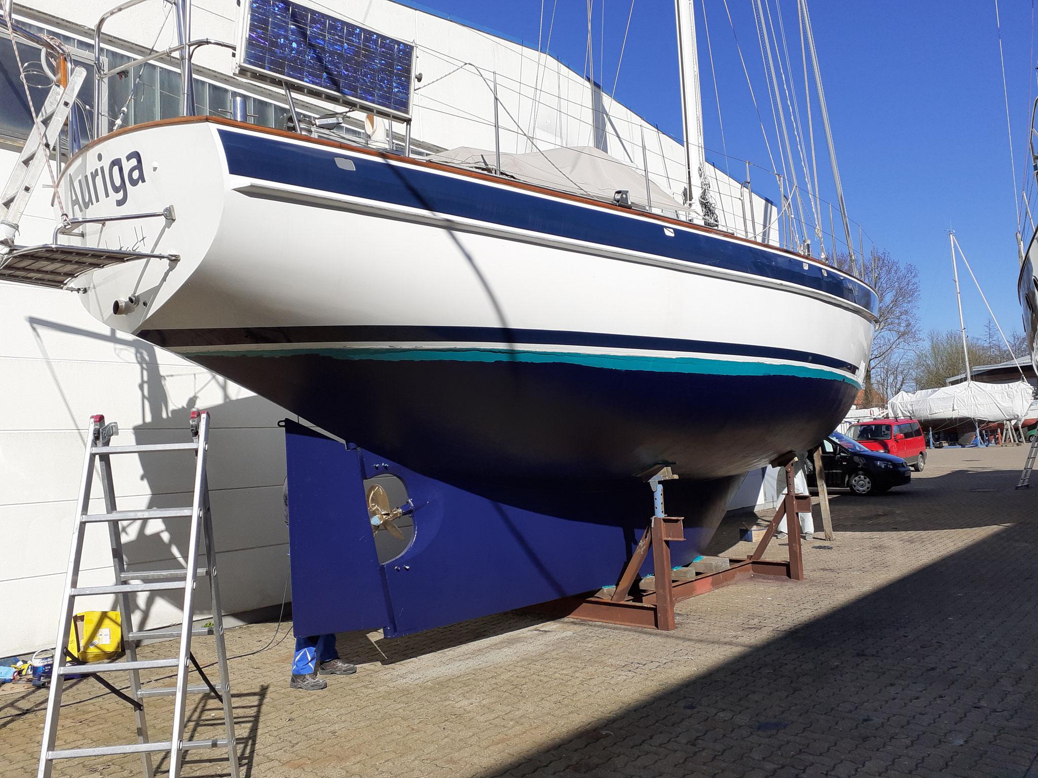2 x Unterwasserschifffarbe für Auriga