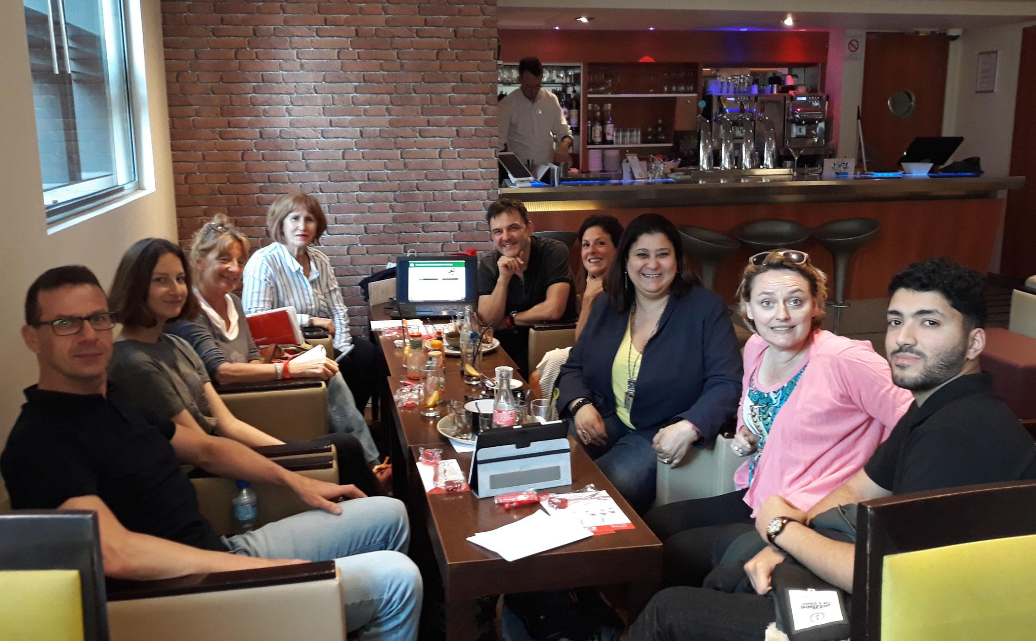 Réunion LMC France à  Paris