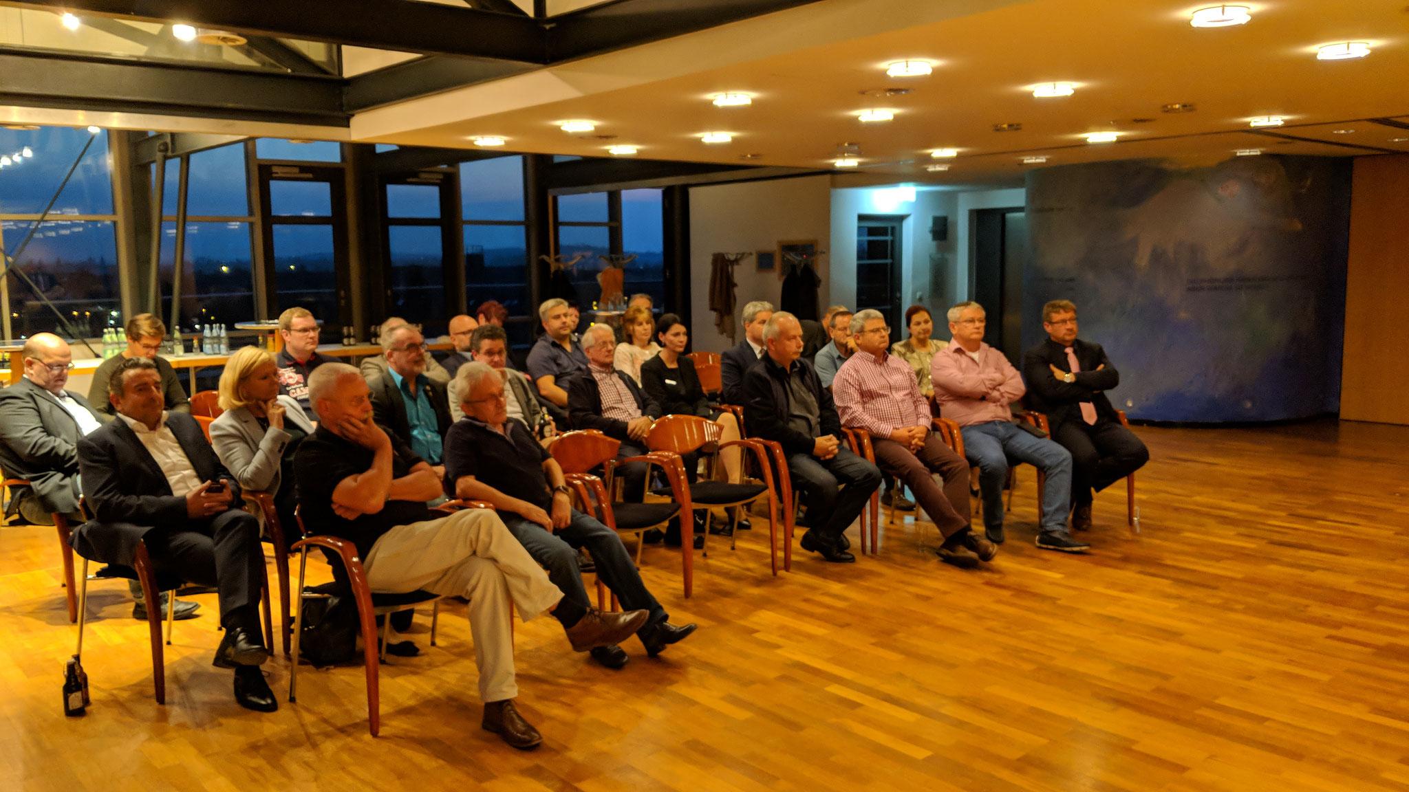 Vielen Dank für die gut besuchte Mitgliederversammlung!