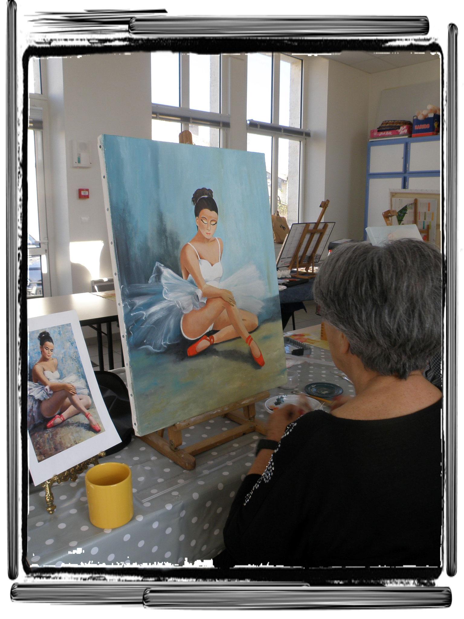 Claudette (Si je n'avais pas choisi la peinture voilà ce que je serai devenue)