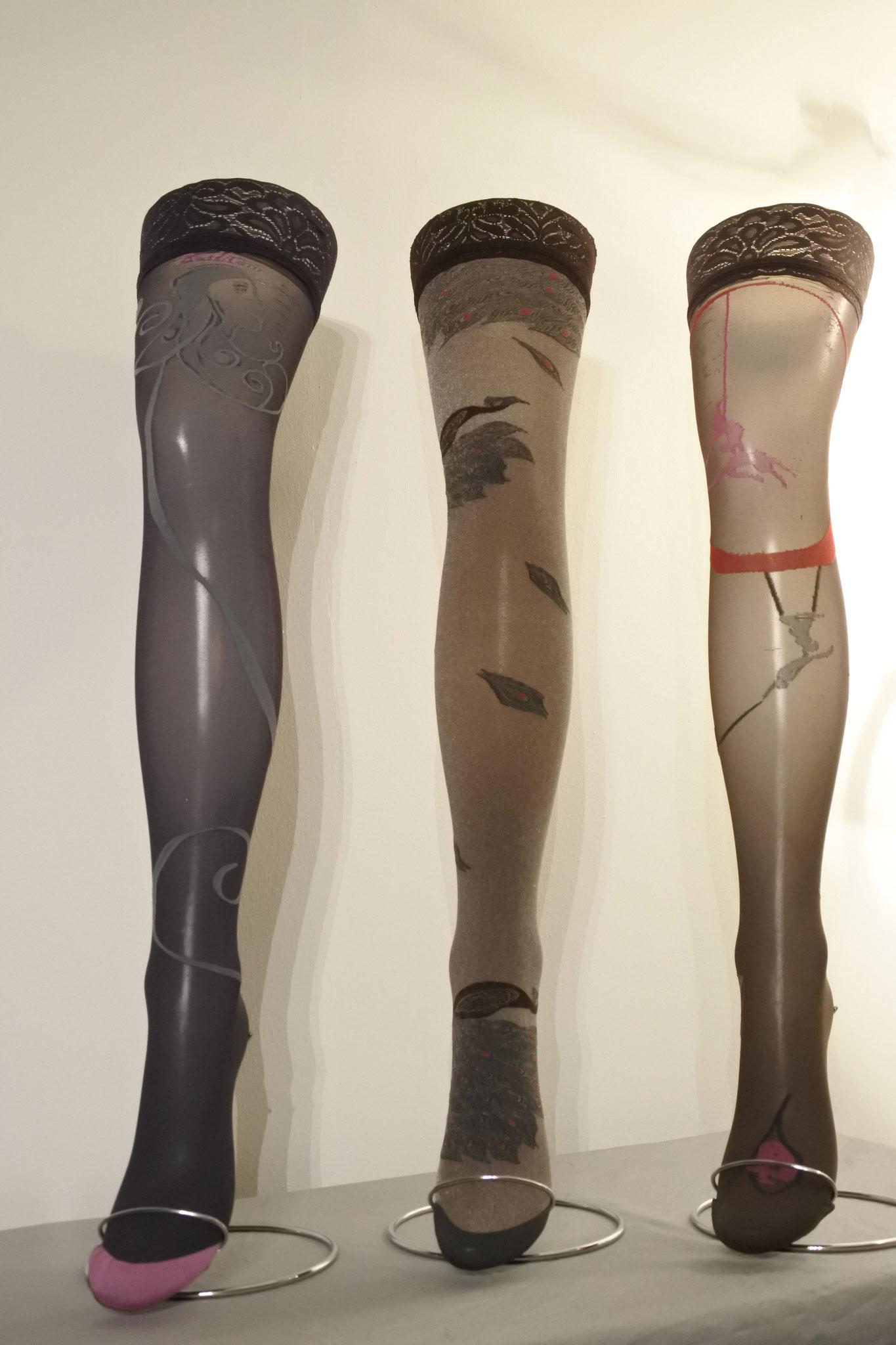 Für Frauen die aussergewöhnliche Strümpfe lieben! 30 DEN mit Silikonhaftband (CHF 38.00)