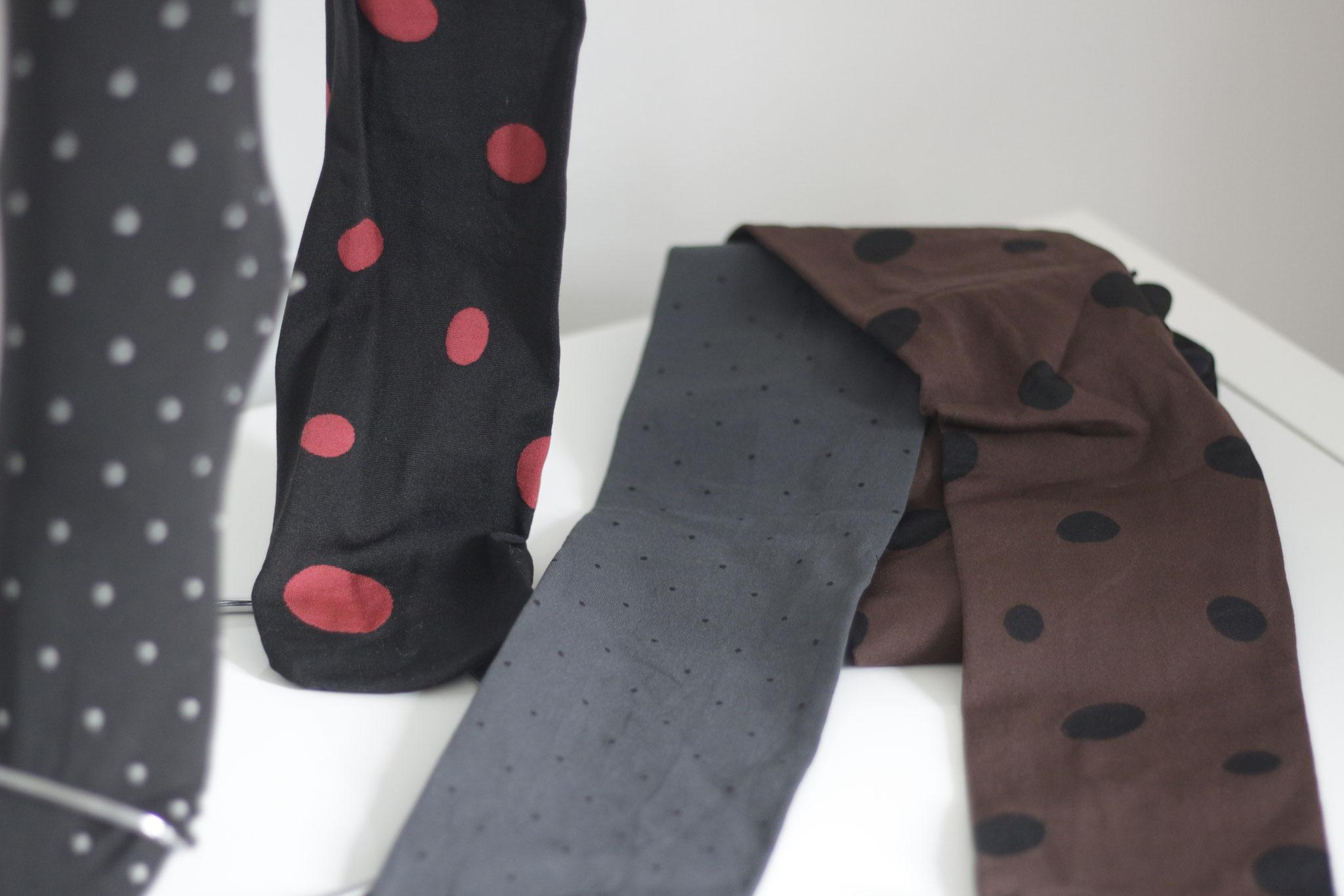 Strumpfhosen 60 DEN grau/braun/schwarz (CHF 64.-) Sie kann sehr gut zur Legging abgeschnitten werden!
