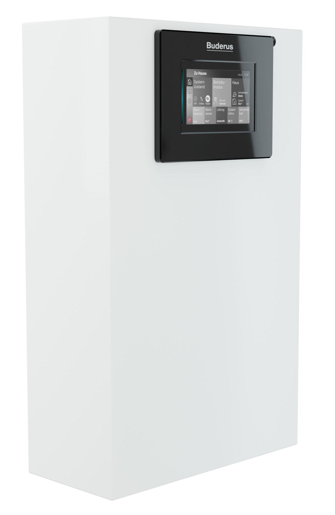 Die Luft-Wasser-Wärmepumpe Logatherm WLW286 A von Buderus ist eine flexible Systemlösung für größere Einfamilien- und insbesondere für Mehrfamilienhäuser, Gewerbe- oder Bürogebäude.