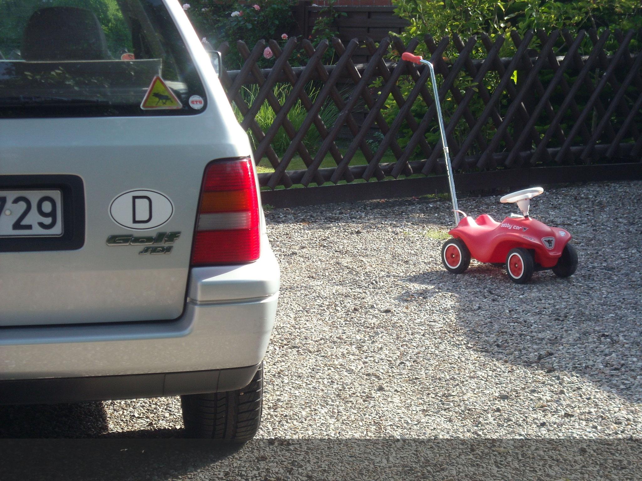 Wir haben einen Parkplatz für jeden.