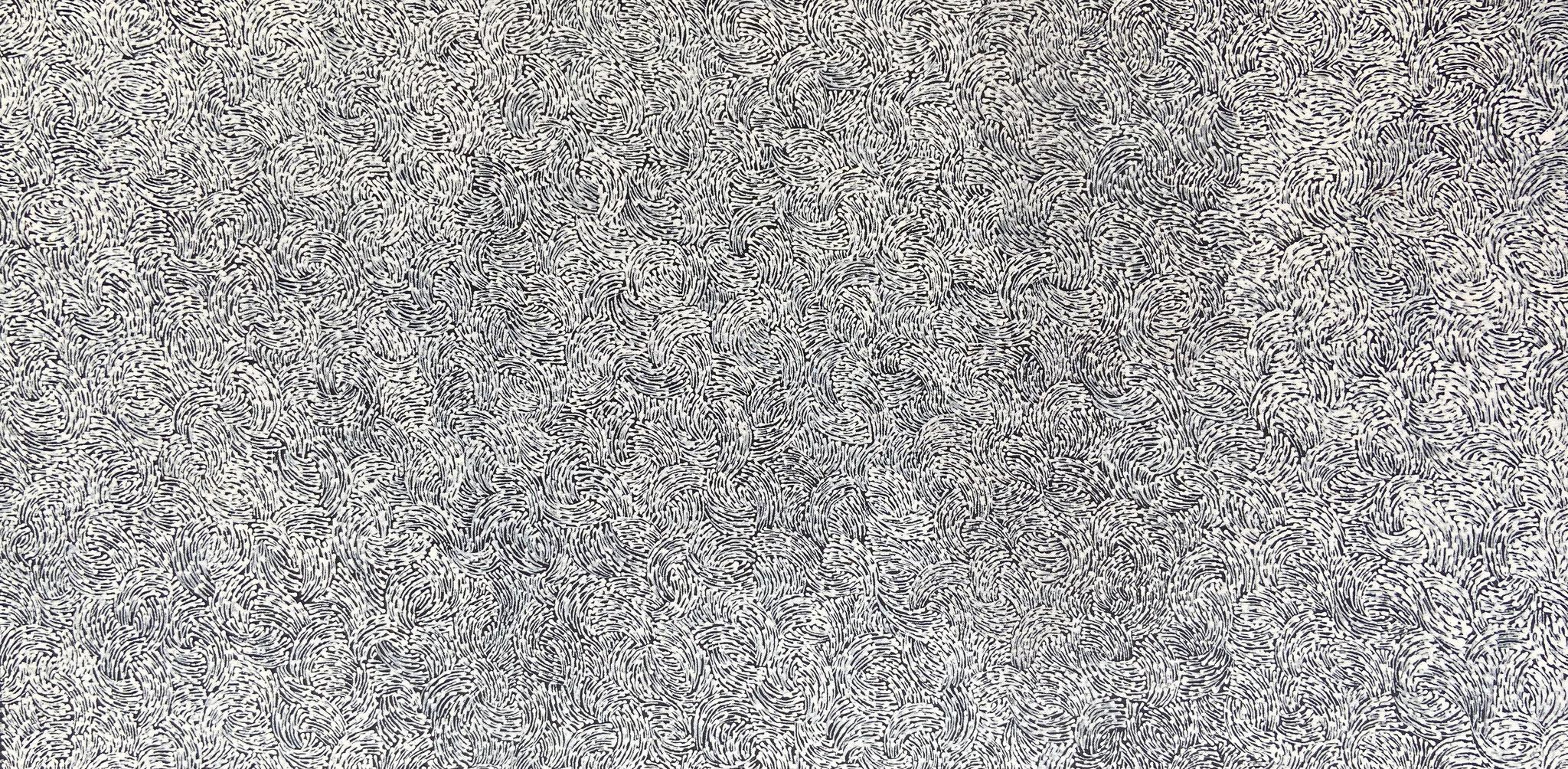 ナタリー・パーブス 「ボディ・ペイント」 500x960mm