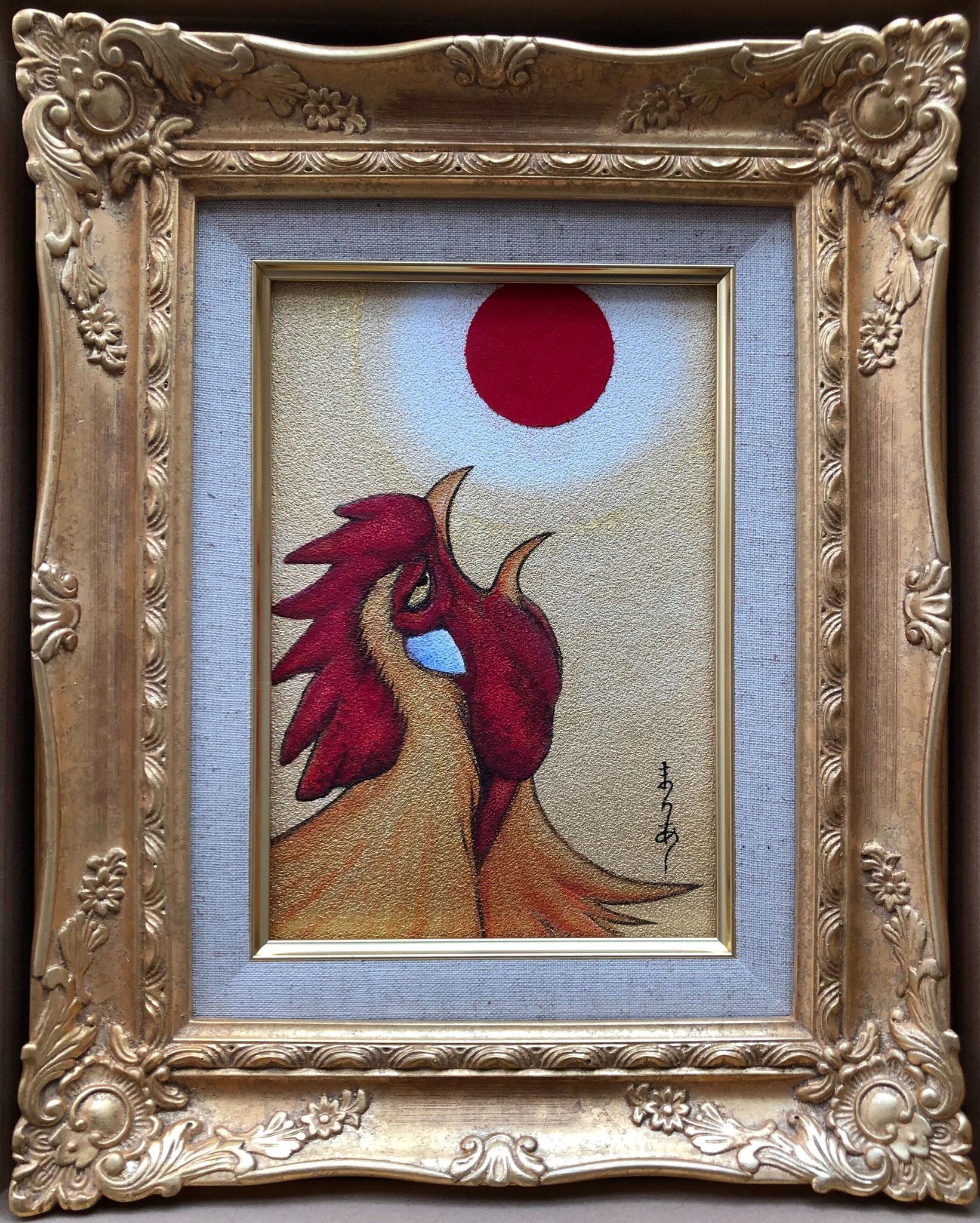 太陽の鳥Ⅰ 日本画 SM ¥110,000(税別)