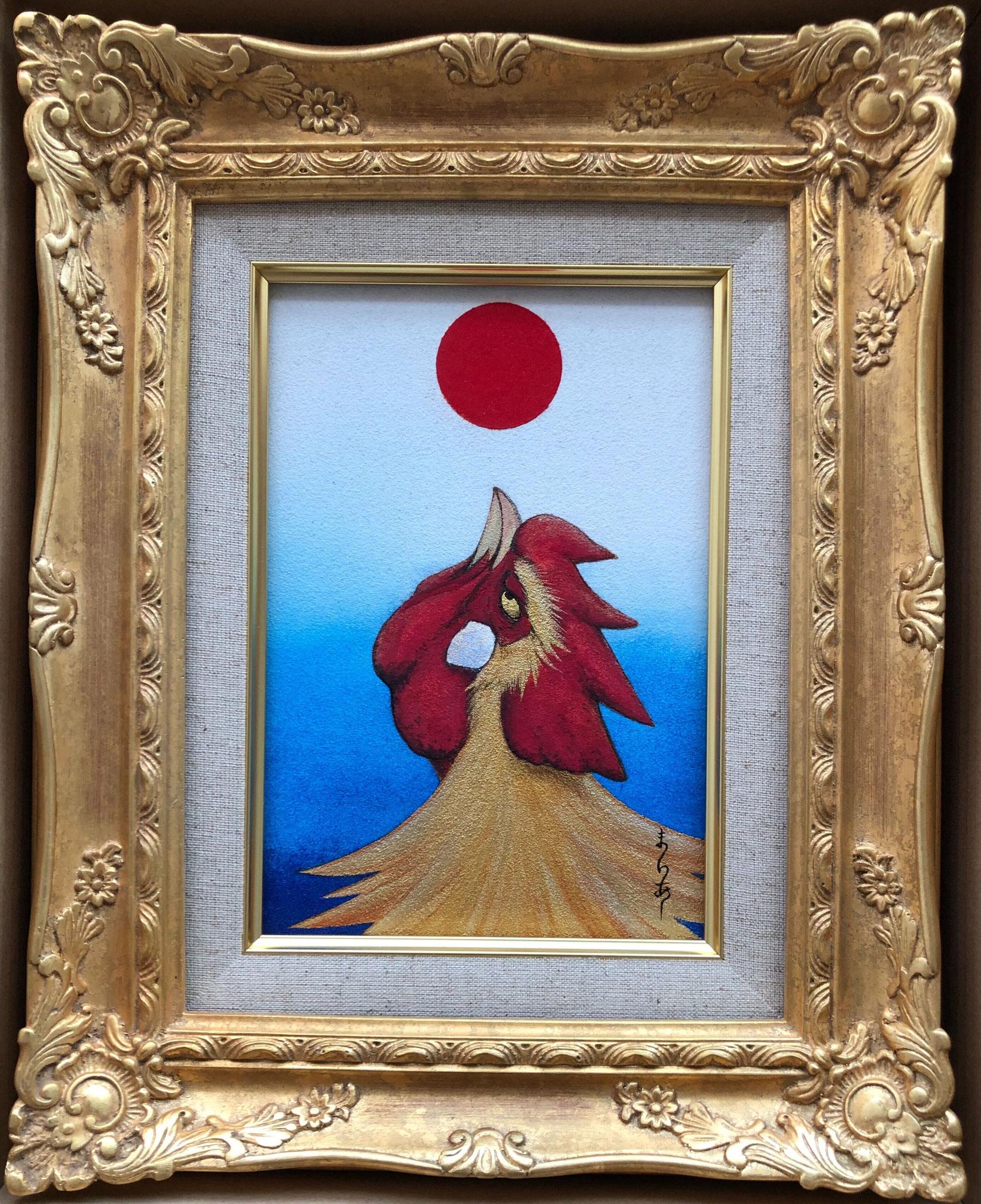 太陽の鳥Ⅱ 日本画 SM ¥110,000(税別)
