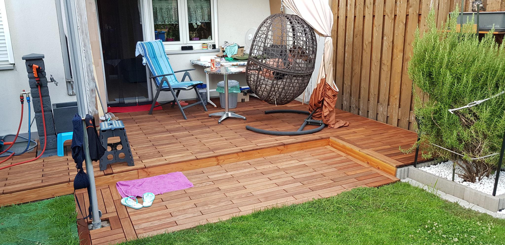 Neu mit Gumi Wood Decking