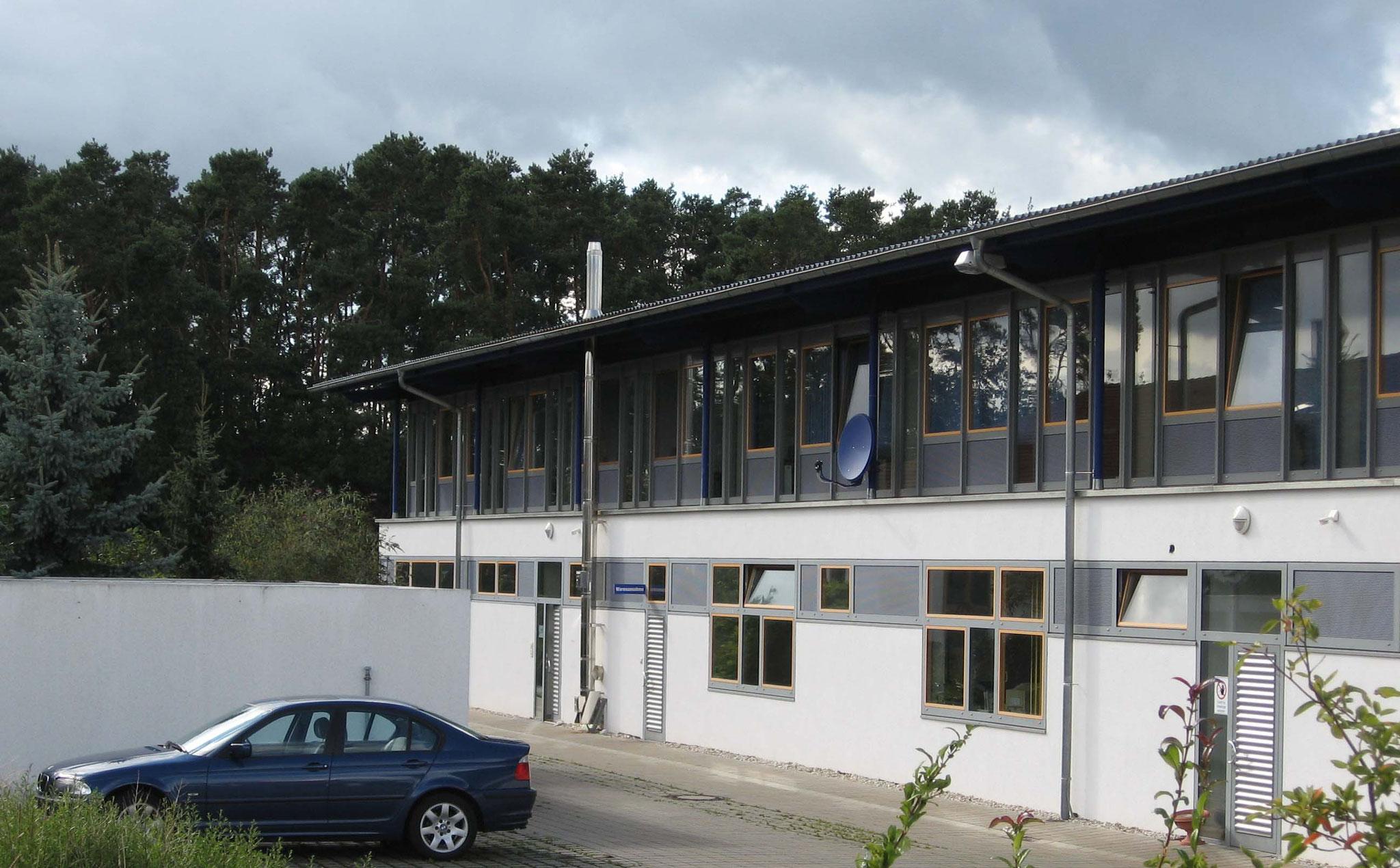 2007-2008 - Interims- Firmensitz, gleichzeitig Neubau eines Bürogebäudes