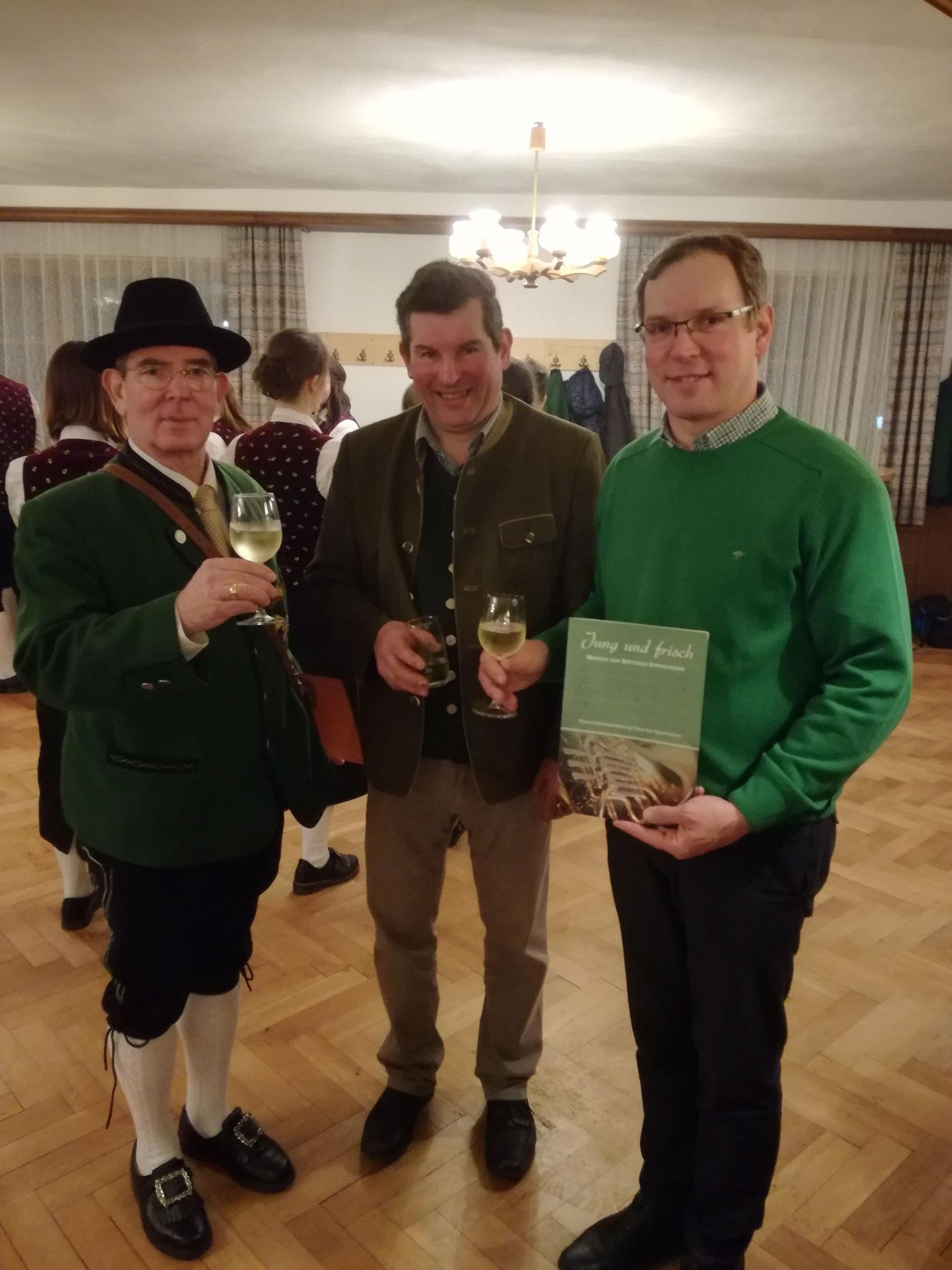 """Uraufführung von """"Jung und Frisch""""  beim Frühlingskonzert des BMV Steinkirchen"""