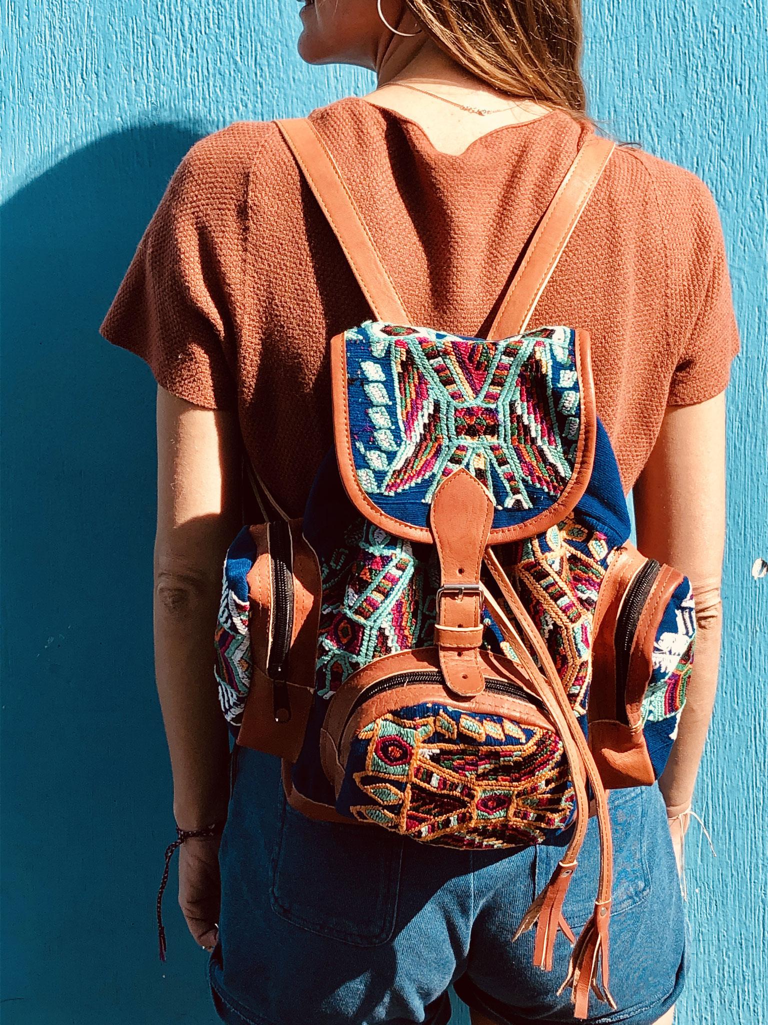 huipil backpack